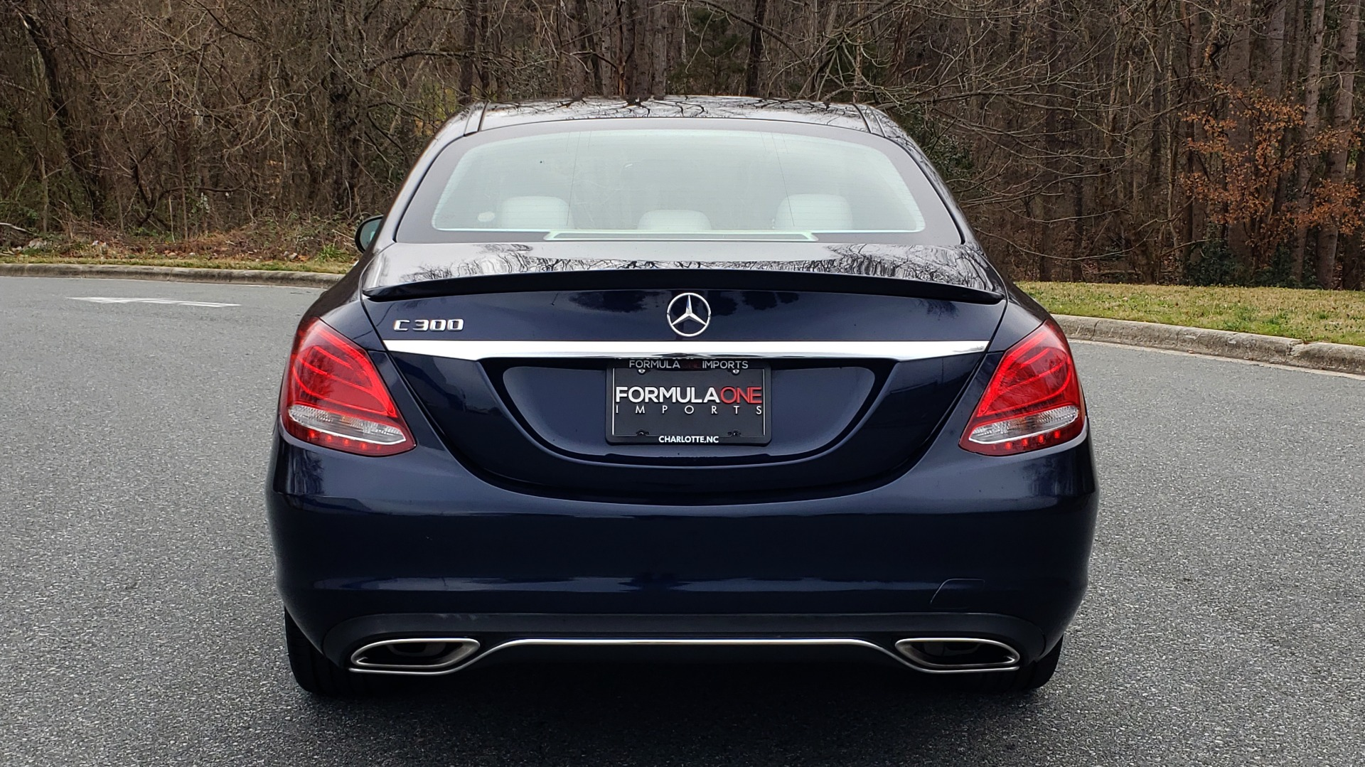 Used 2016 Mercedes-Benz C-CLASS C 300 / PREM PKG / PANO-ROOF / BSA / HTD STS / REARVIEW for sale Sold at Formula Imports in Charlotte NC 28227 26