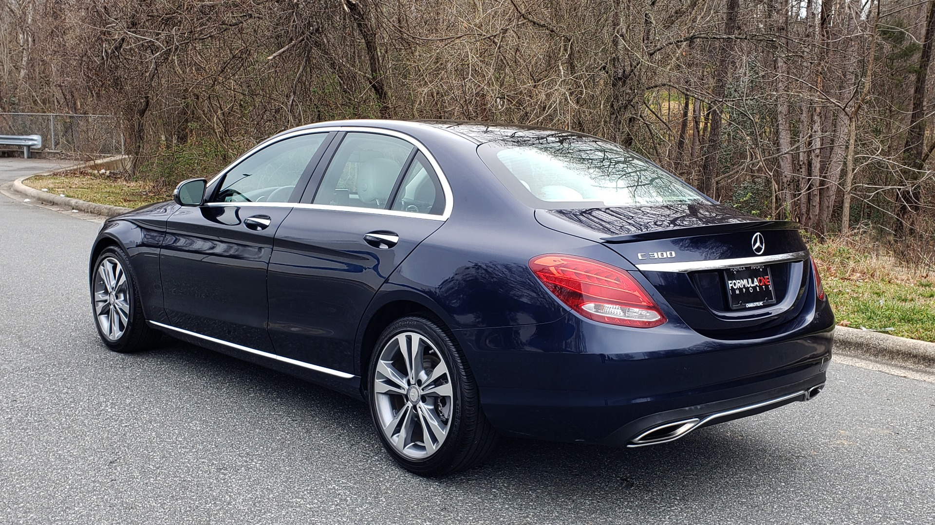 Used 2016 Mercedes-Benz C-CLASS C 300 / PREM PKG / PANO-ROOF / BSA / HTD STS / REARVIEW for sale Sold at Formula Imports in Charlotte NC 28227 3