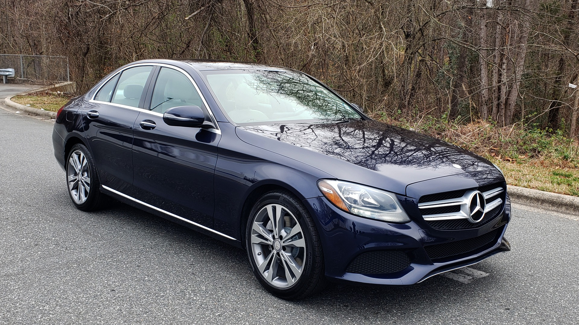 Used 2016 Mercedes-Benz C-CLASS C 300 / PREM PKG / PANO-ROOF / BSA / HTD STS / REARVIEW for sale Sold at Formula Imports in Charlotte NC 28227 4