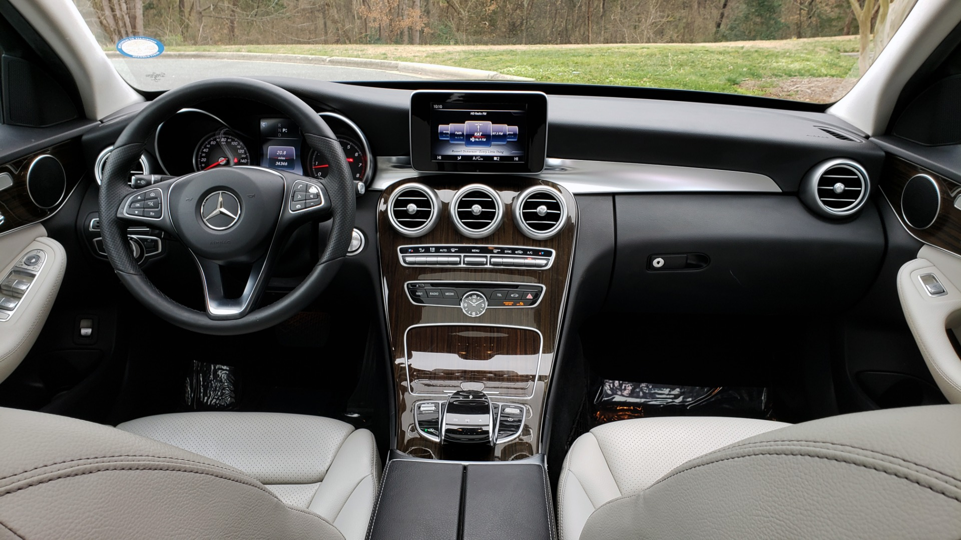 Used 2016 Mercedes-Benz C-CLASS C 300 / PREM PKG / PANO-ROOF / BSA / HTD STS / REARVIEW for sale Sold at Formula Imports in Charlotte NC 28227 70