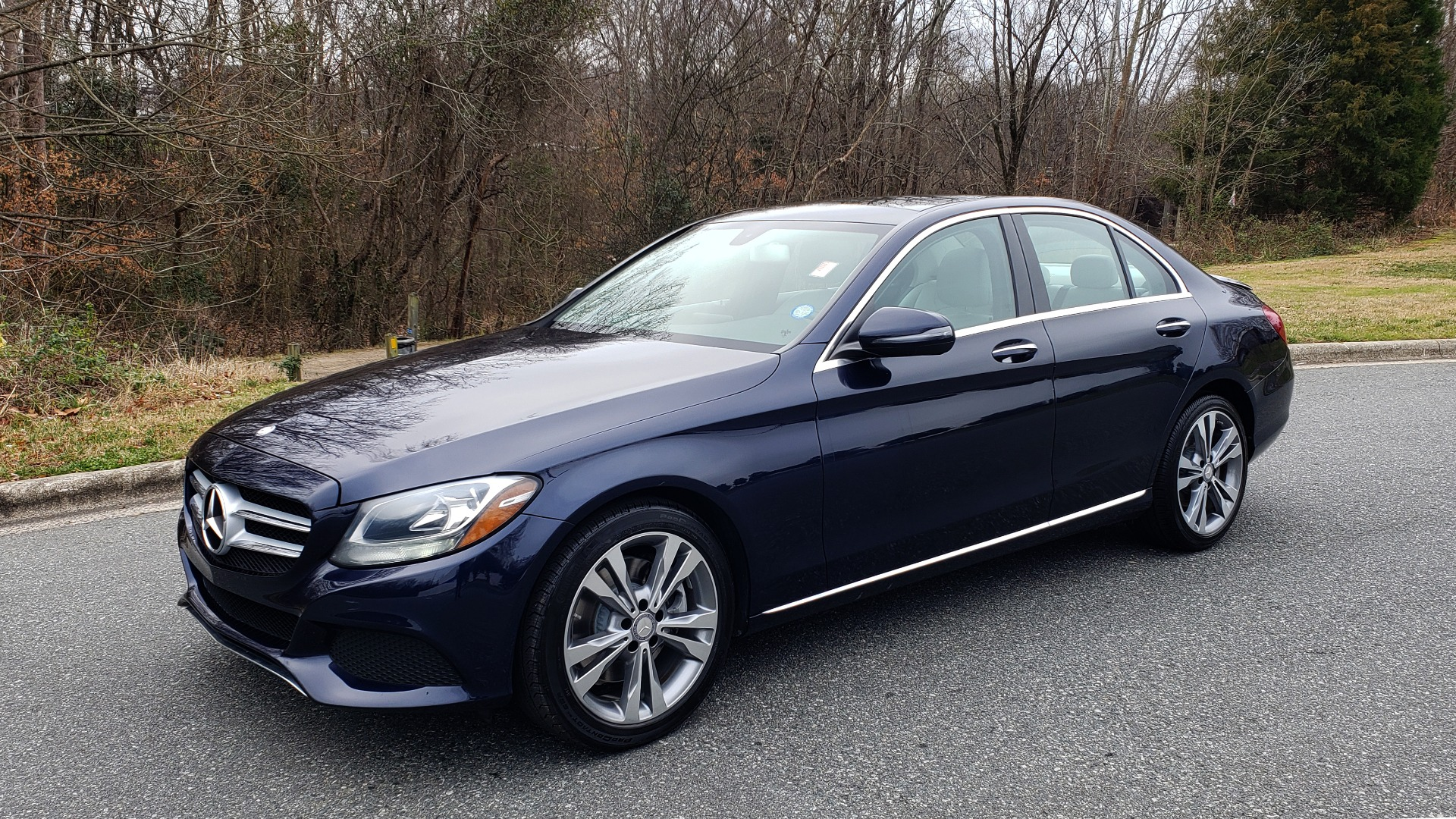 Used 2016 Mercedes-Benz C-CLASS C 300 / PREM PKG / PANO-ROOF / BSA / HTD STS / REARVIEW for sale Sold at Formula Imports in Charlotte NC 28227 1