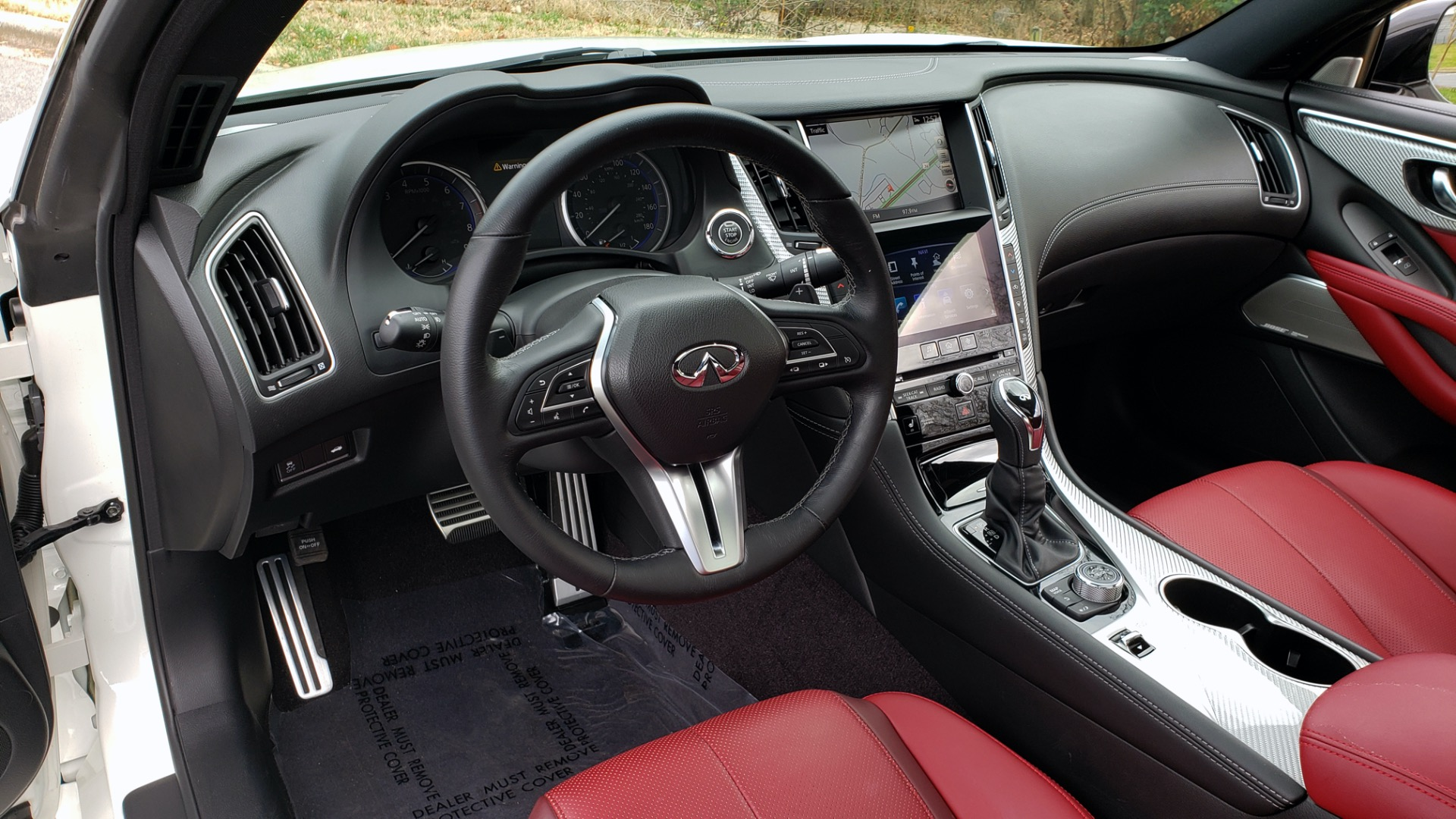 Used 2018 INFINITI Q60 RED SPORT 400 / SENSORY PKG / SUNROOF / NAV / REARVIEW for sale Sold at Formula Imports in Charlotte NC 28227 40