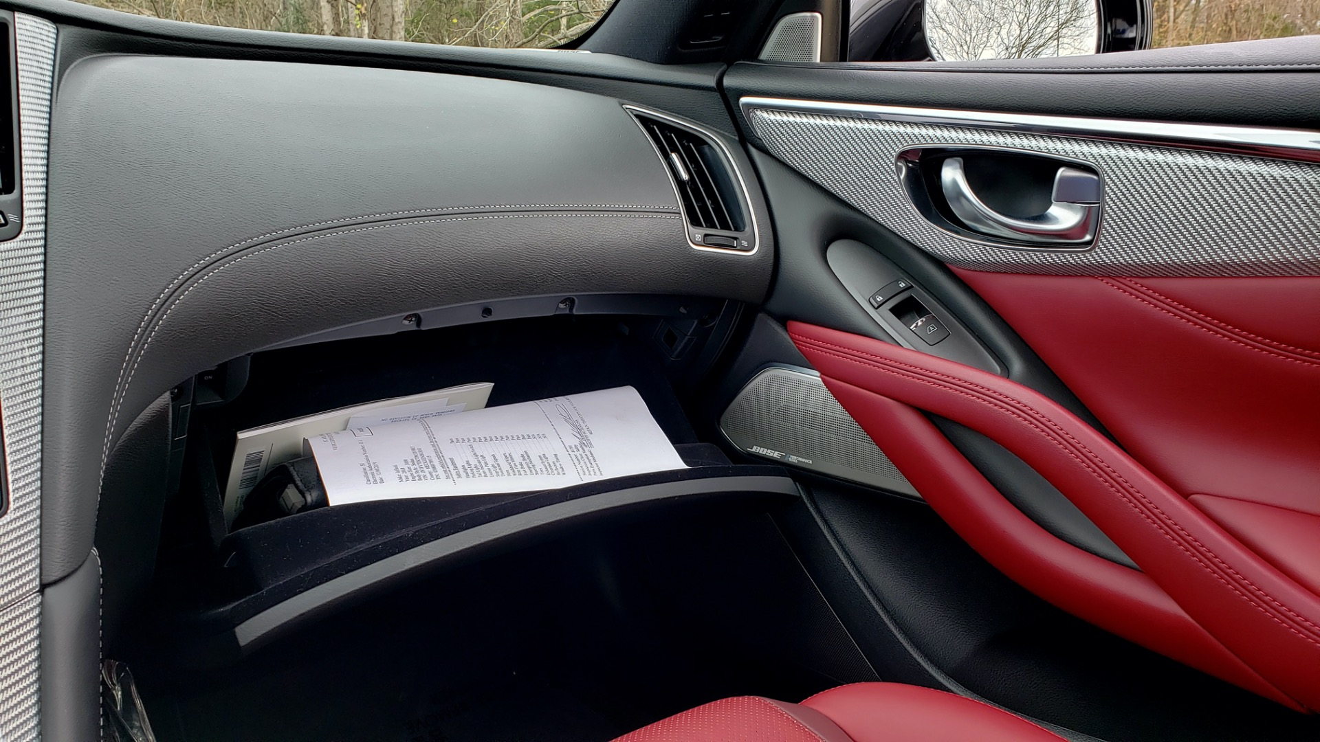 Used 2018 INFINITI Q60 RED SPORT 400 / SENSORY PKG / SUNROOF / NAV / REARVIEW for sale Sold at Formula Imports in Charlotte NC 28227 54