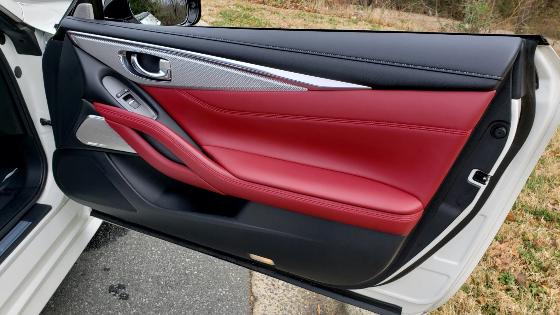 Used 2018 INFINITI Q60 RED SPORT 400 / SENSORY PKG / SUNROOF / NAV / REARVIEW for sale Sold at Formula Imports in Charlotte NC 28227 65