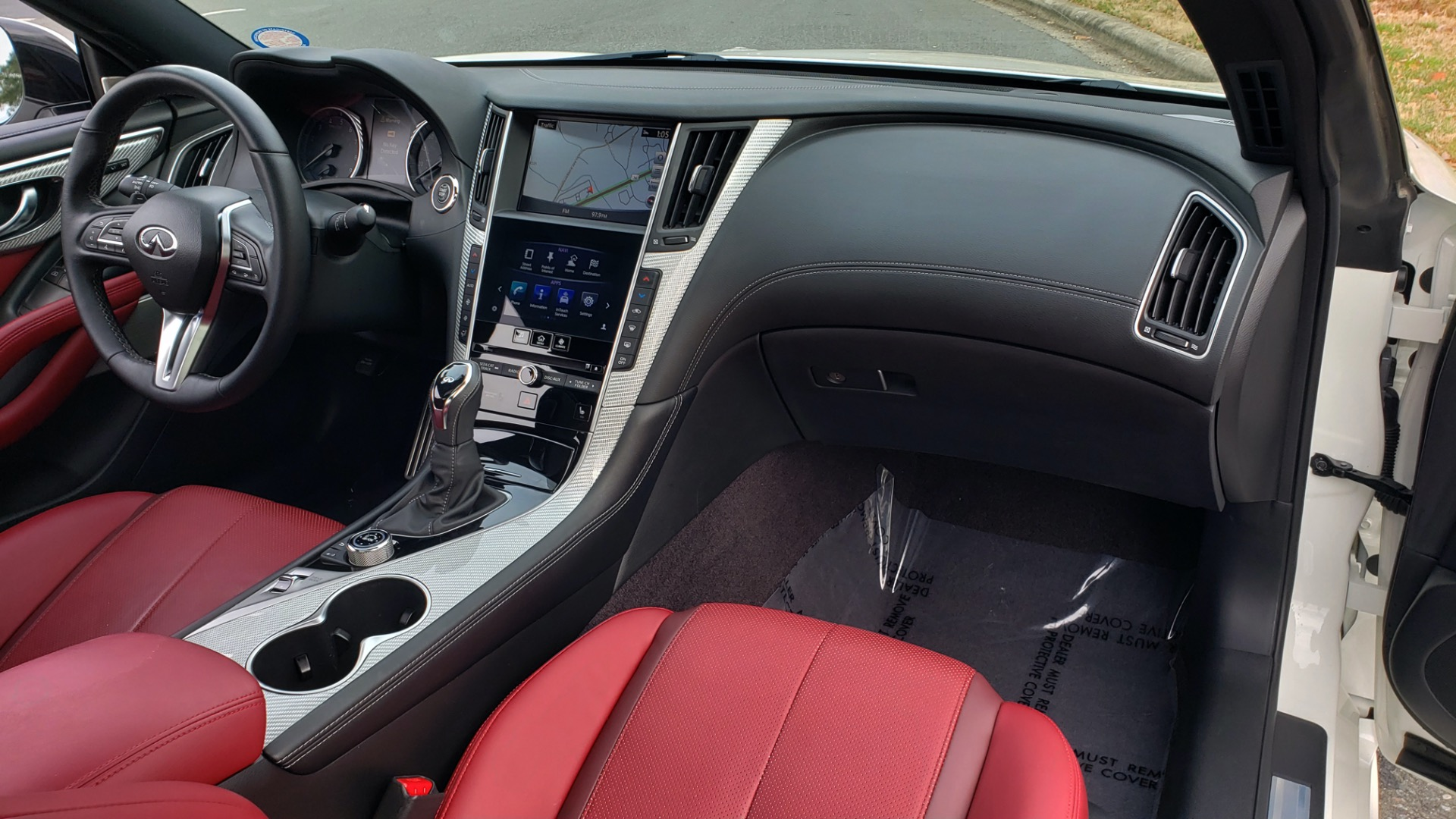 Used 2018 Infiniti Q60 RED SPORT 400 / SENSORY PKG / SUNROOF / NAV / REARVIEW for sale Sold at Formula Imports in Charlotte NC 28227 70
