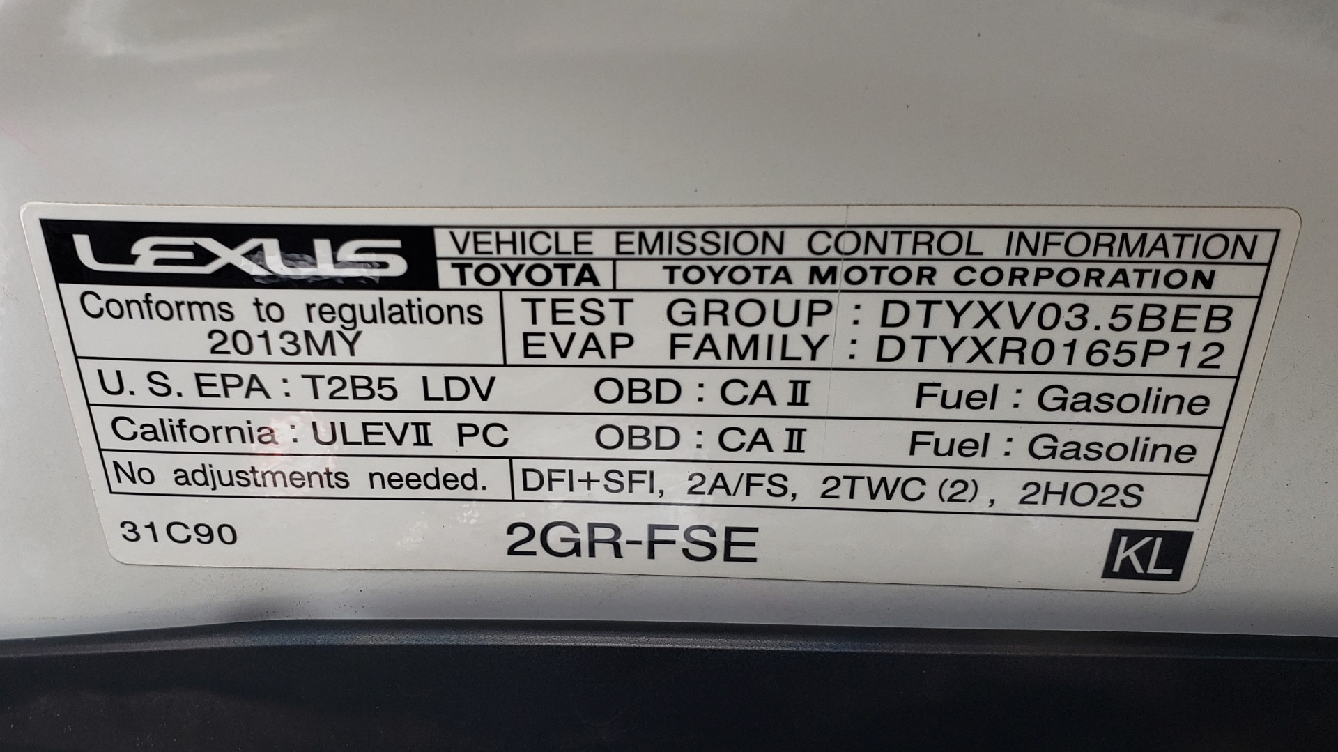 Used 2013 Lexus GS 350 F-SPORT / NAV / SUNROOF / BSM / PRK ASST / REARVIEW for sale Sold at Formula Imports in Charlotte NC 28227 12