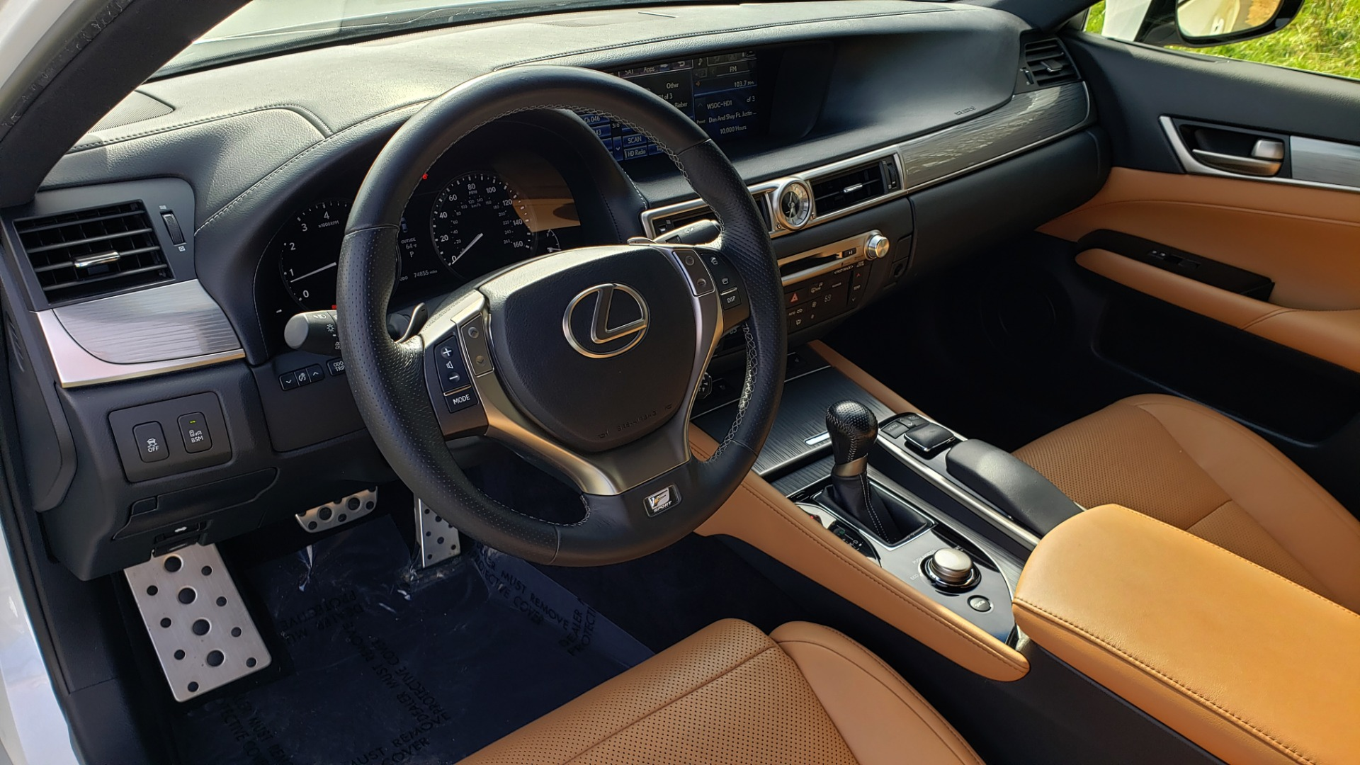 Used 2013 Lexus GS 350 F-SPORT / NAV / SUNROOF / BSM / PRK ASST / REARVIEW for sale Sold at Formula Imports in Charlotte NC 28227 31