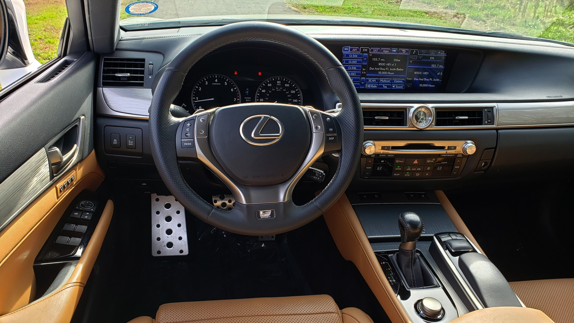 Used 2013 Lexus GS 350 F-SPORT / NAV / SUNROOF / BSM / PRK ASST / REARVIEW for sale Sold at Formula Imports in Charlotte NC 28227 34