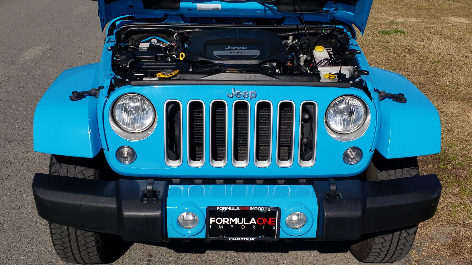Used 2017 Jeep WRANGLER UNLIMITED SAHARA 4X4 / FREEDOM TOP / V6 / AUTO / A/C for sale Sold at Formula Imports in Charlotte NC 28227 17