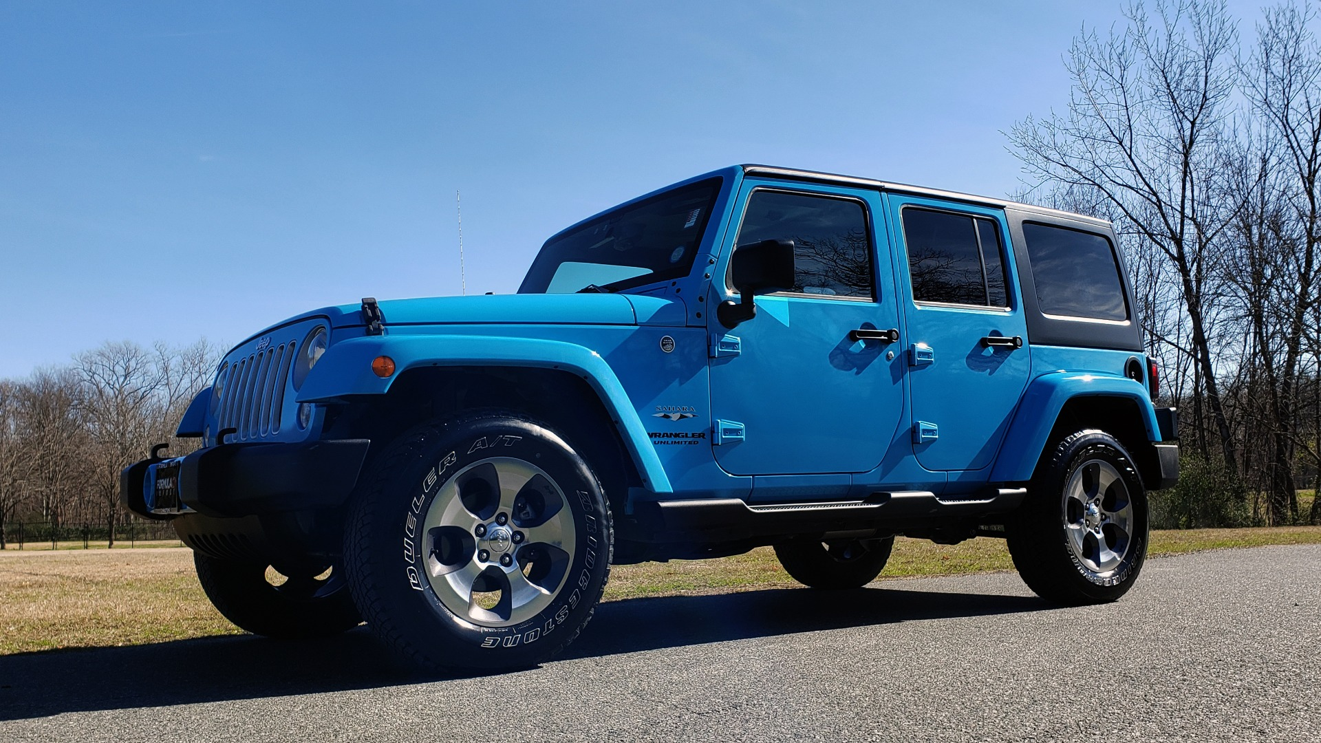 Used 2017 Jeep WRANGLER UNLIMITED SAHARA 4X4 / FREEDOM TOP / V6 / AUTO / A/C for sale Sold at Formula Imports in Charlotte NC 28227 2