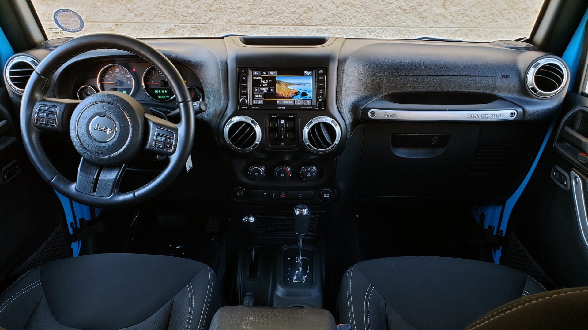 Used 2017 Jeep WRANGLER UNLIMITED SAHARA 4X4 / FREEDOM TOP / V6 / AUTO / A/C for sale Sold at Formula Imports in Charlotte NC 28227 67