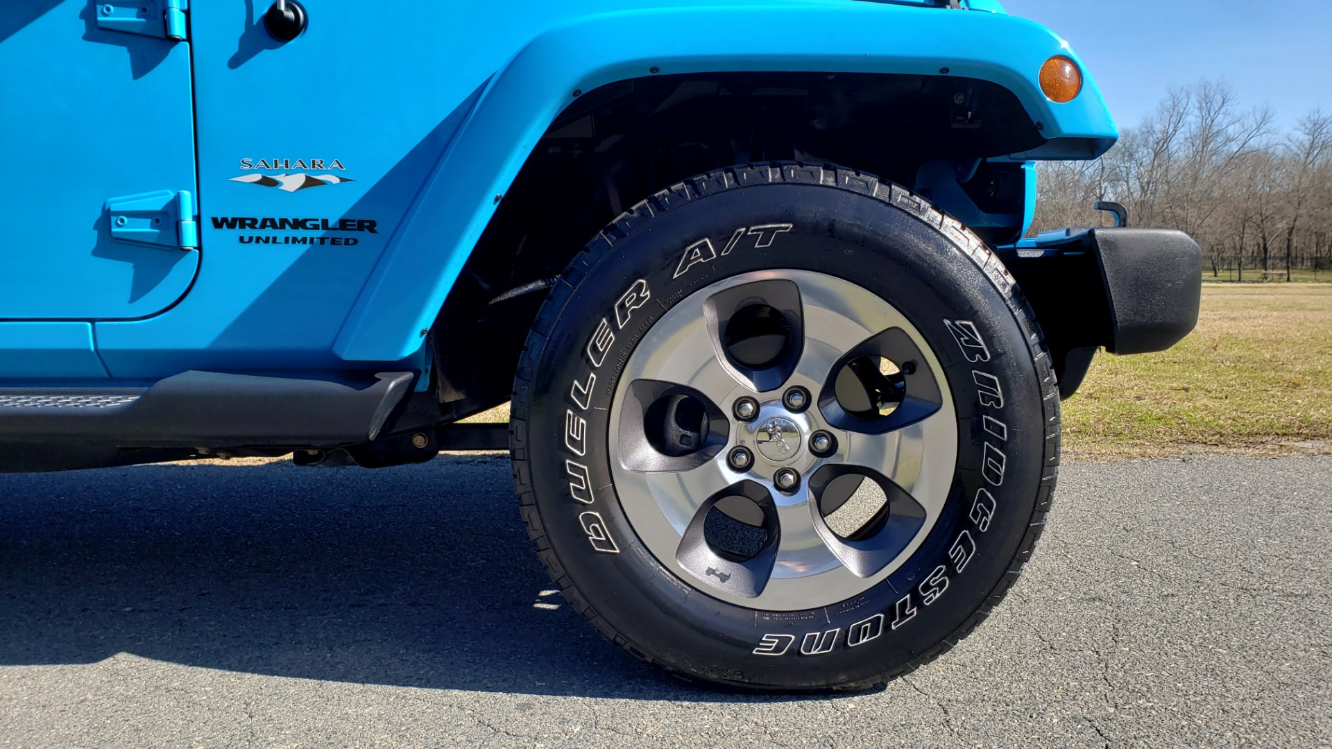 Used 2017 Jeep WRANGLER UNLIMITED SAHARA 4X4 / FREEDOM TOP / V6 / AUTO / A/C for sale Sold at Formula Imports in Charlotte NC 28227 72