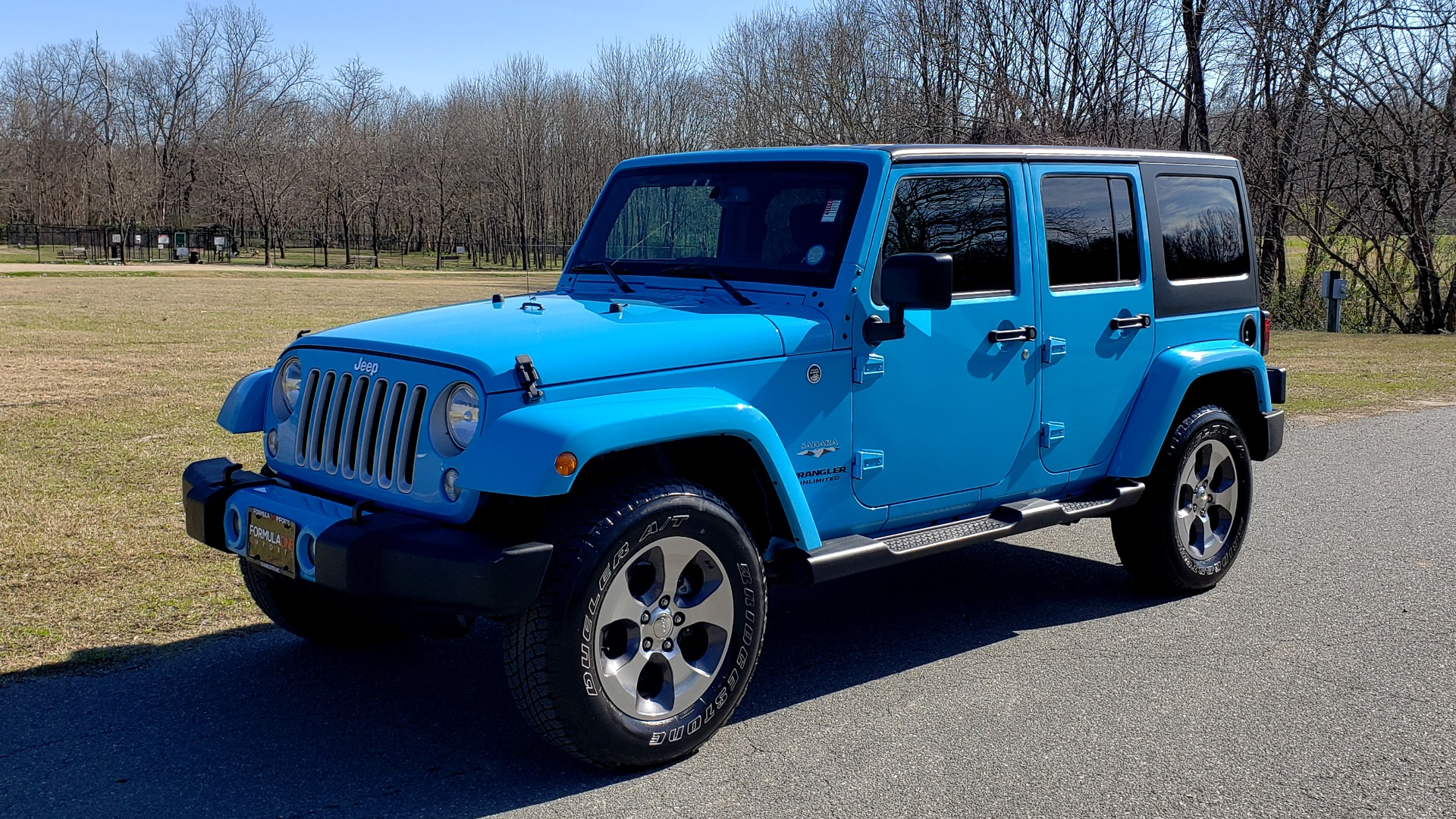 Used 2017 Jeep WRANGLER UNLIMITED SAHARA 4X4 / FREEDOM TOP / V6 / AUTO / A/C for sale Sold at Formula Imports in Charlotte NC 28227 1