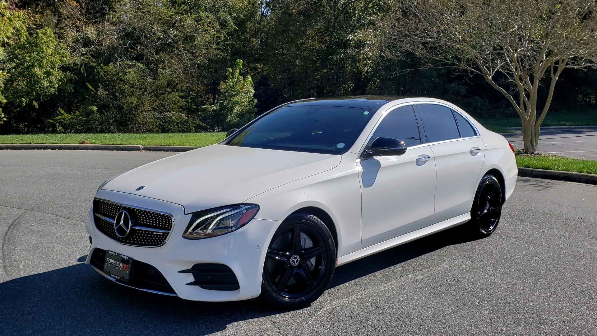 Used 2018 Mercedes-Benz E-Class E 300 for sale Sold at Formula Imports in Charlotte NC 28227 1