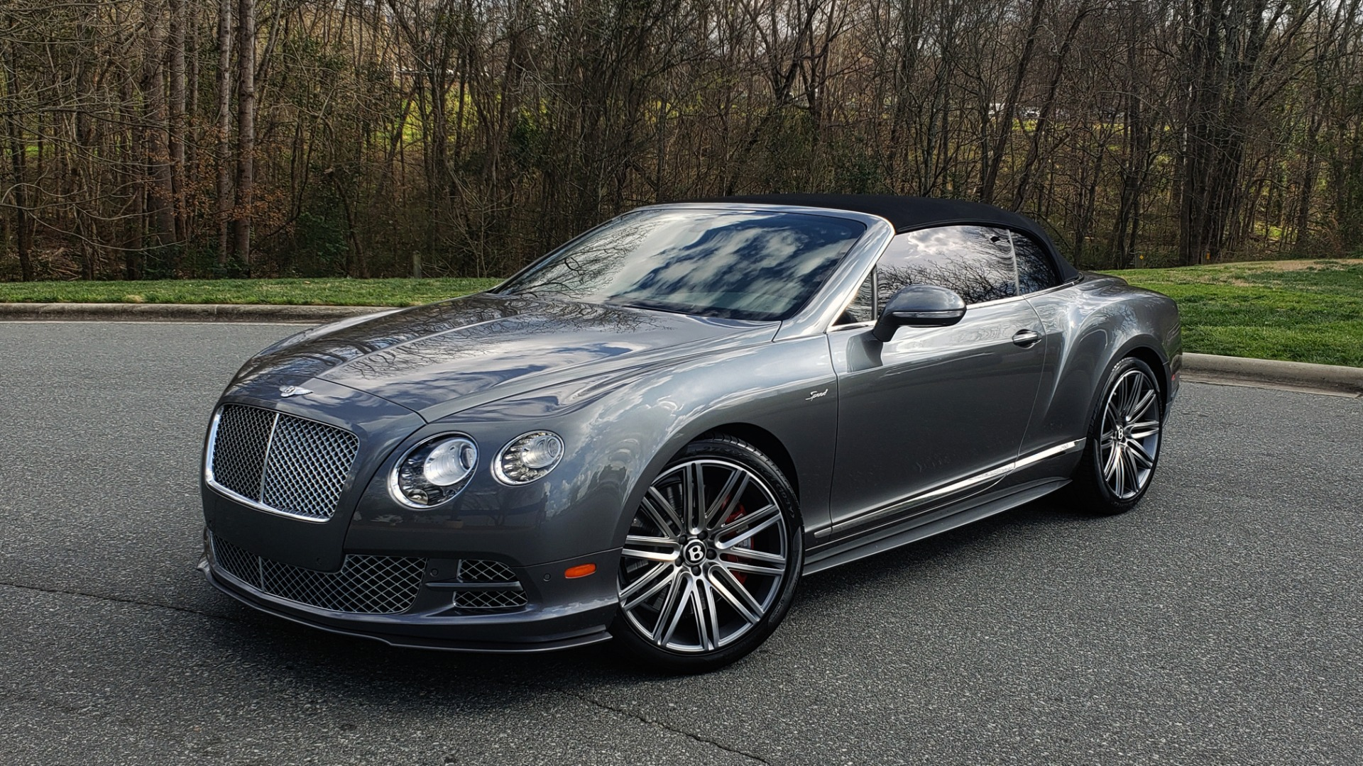 Used 2015 Bentley CONTINENTAL SPEED CONV / 6.0L W12 / NAV / VENT SEATS / REARVIEW for sale Sold at Formula Imports in Charlotte NC 28227 2