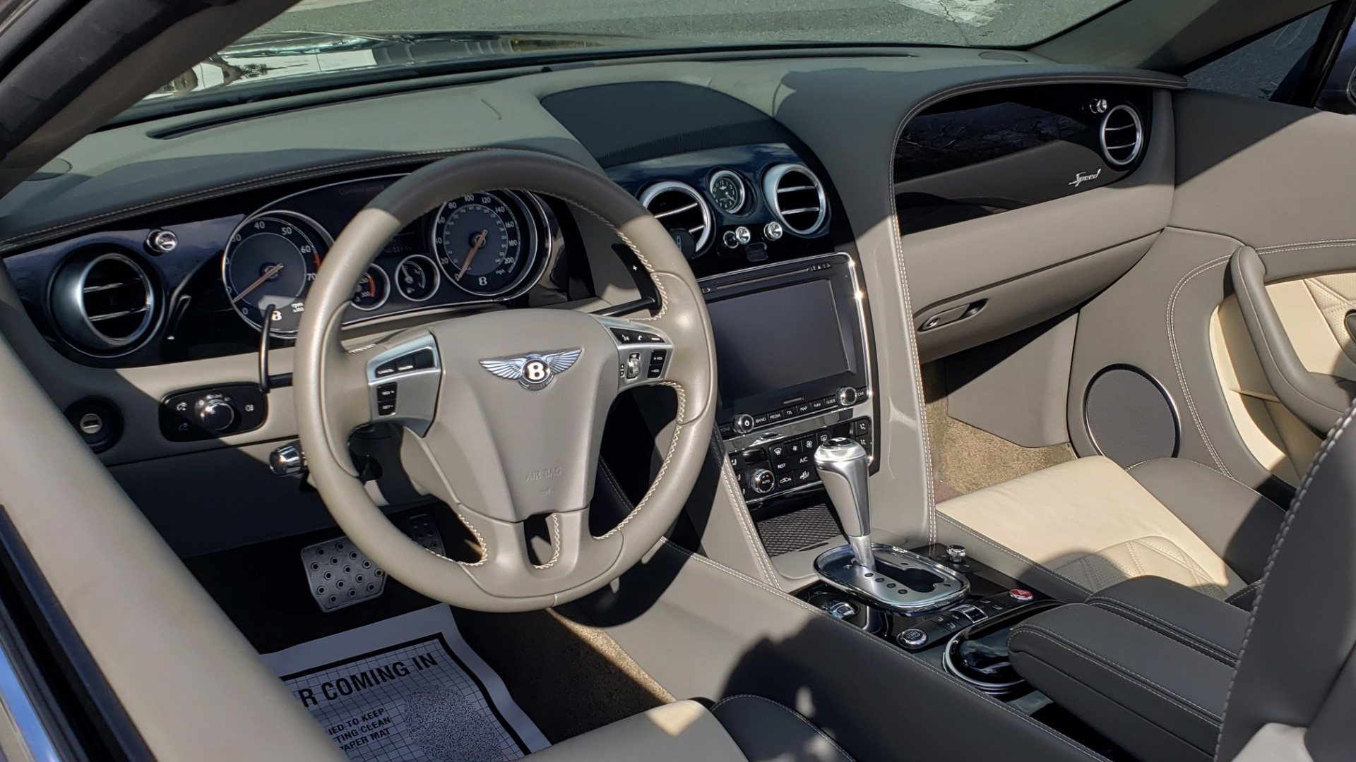 Used 2015 Bentley CONTINENTAL SPEED CONV / 6.0L W12 / NAV / VENT SEATS / REARVIEW for sale Sold at Formula Imports in Charlotte NC 28227 20