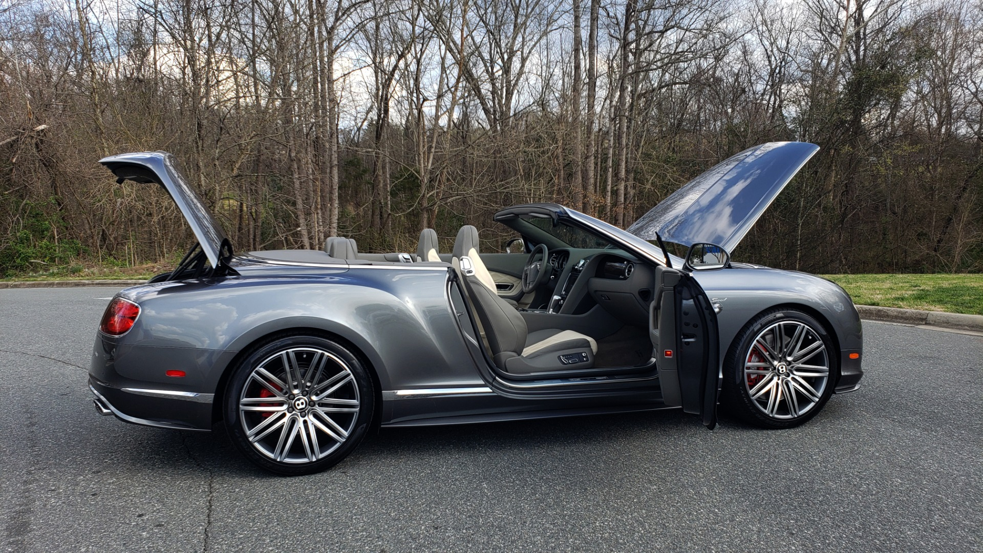 Used 2015 Bentley CONTINENTAL SPEED CONV / 6.0L W12 / NAV / VENT SEATS / REARVIEW for sale Sold at Formula Imports in Charlotte NC 28227 22