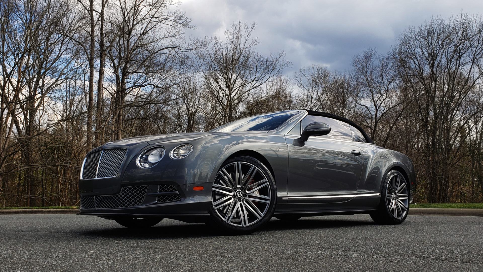Used 2015 Bentley CONTINENTAL SPEED CONV / 6.0L W12 / NAV / VENT SEATS / REARVIEW for sale Sold at Formula Imports in Charlotte NC 28227 4