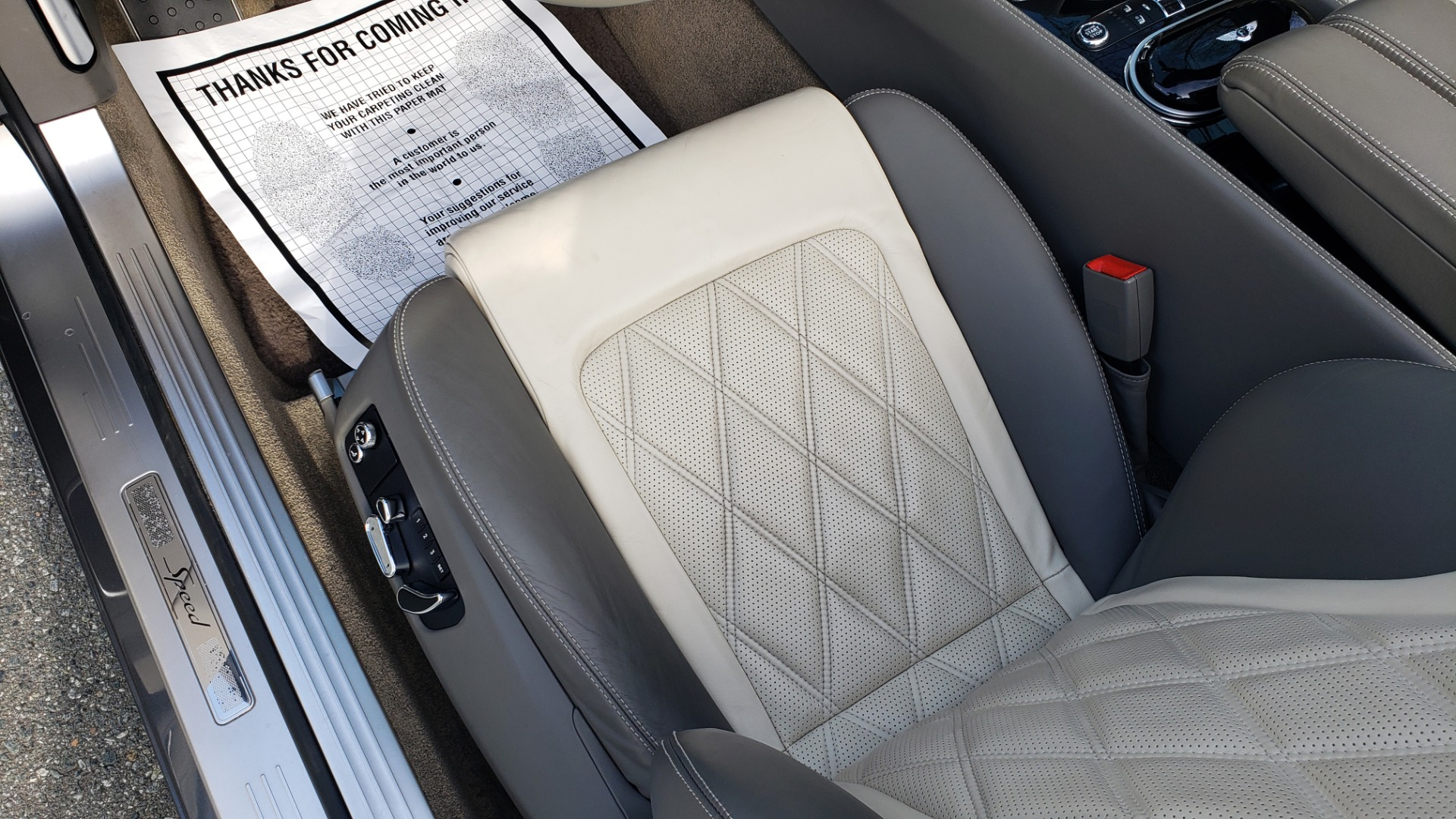 Used 2015 Bentley CONTINENTAL SPEED CONV / 6.0L W12 / NAV / VENT SEATS / REARVIEW for sale Sold at Formula Imports in Charlotte NC 28227 50