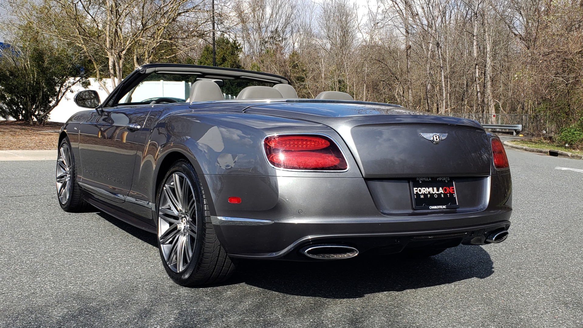 Used 2015 Bentley CONTINENTAL SPEED CONV / 6.0L W12 / NAV / VENT SEATS / REARVIEW for sale Sold at Formula Imports in Charlotte NC 28227 7