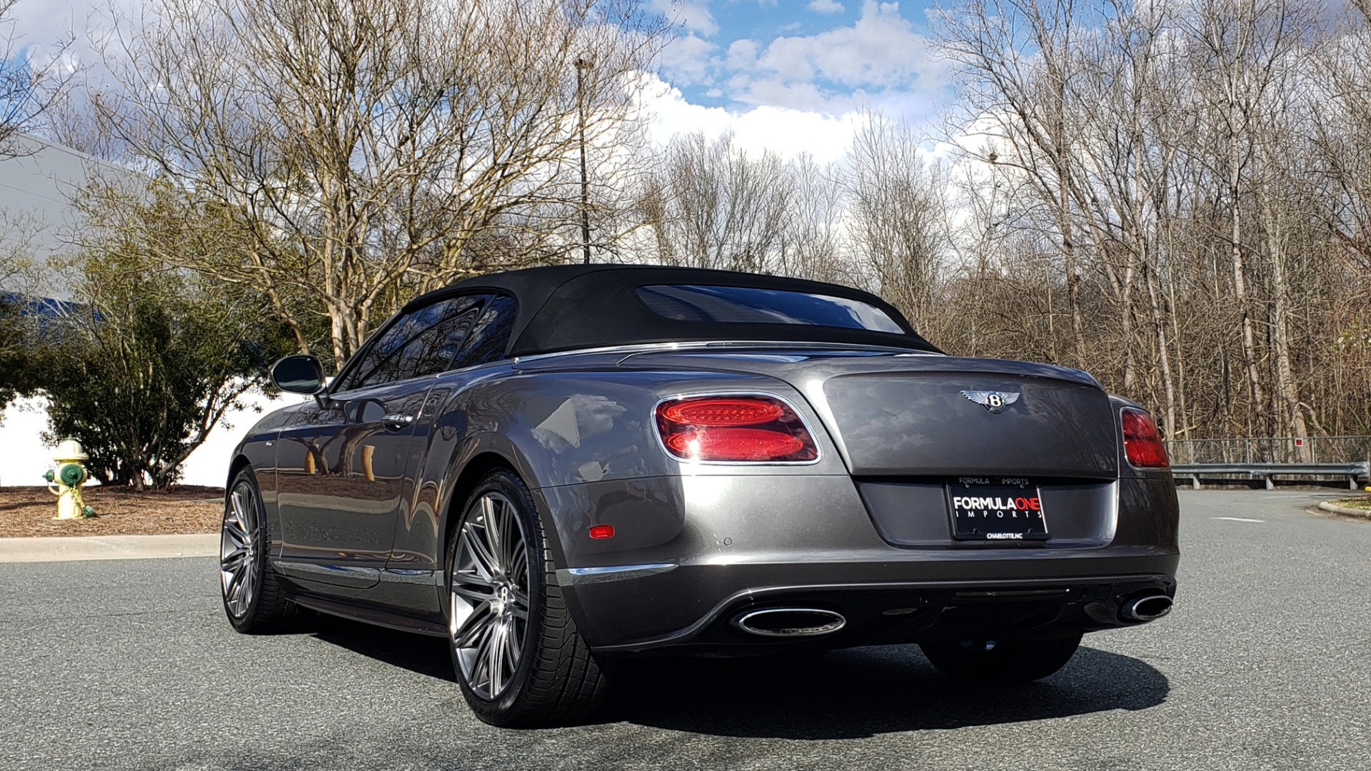 Used 2015 Bentley CONTINENTAL SPEED CONV / 6.0L W12 / NAV / VENT SEATS / REARVIEW for sale Sold at Formula Imports in Charlotte NC 28227 8
