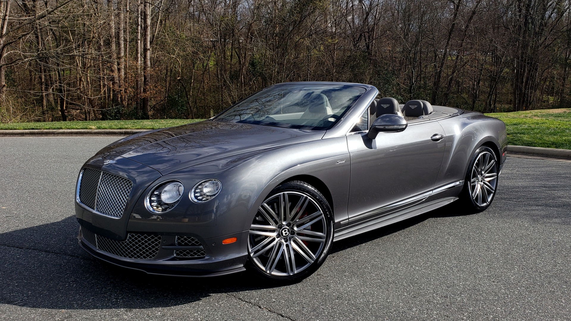 Used 2015 Bentley CONTINENTAL SPEED CONV / 6.0L W12 / NAV / VENT SEATS / REARVIEW for sale Sold at Formula Imports in Charlotte NC 28227 1