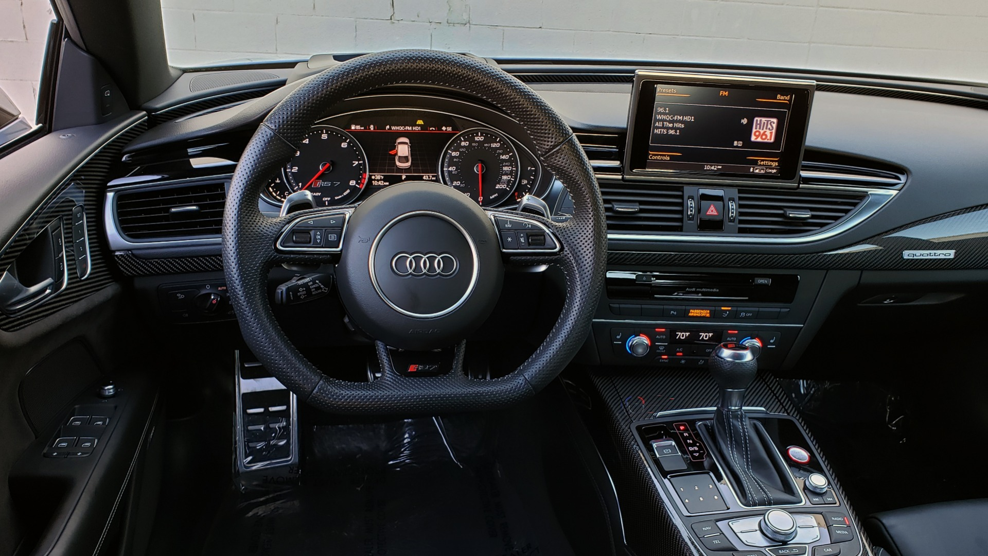 Used 2018 Audi RS 7 4.0T TIPTRONIC / CARBON OPTIC / DRVR ASST / NAV / REARVIEW / 750HP+ for sale Sold at Formula Imports in Charlotte NC 28227 43