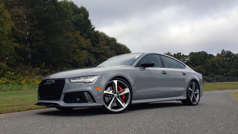 Used 2018 Audi RS 7 4.0T TIPTRONIC / CARBON OPTIC / DRVR ASST / NAV / REARVIEW for sale $91,625 at Formula One Imports in Charlotte NC