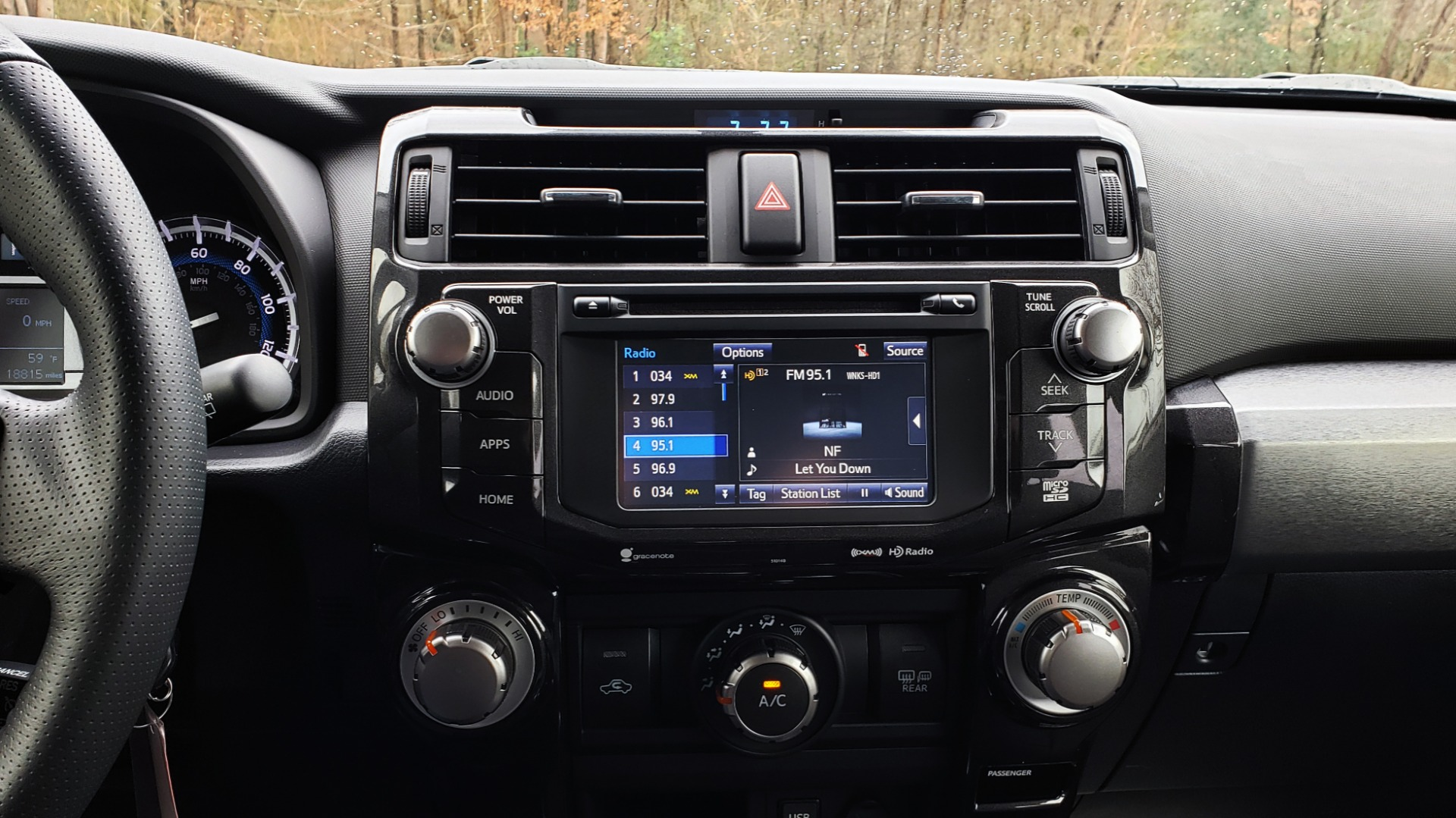 Used 2018 Toyota 4RUNNER TRD OFF-ROAD 4X4 / V6 / AUTO / LEATHER / LOW MILES! for sale Sold at Formula Imports in Charlotte NC 28227 45