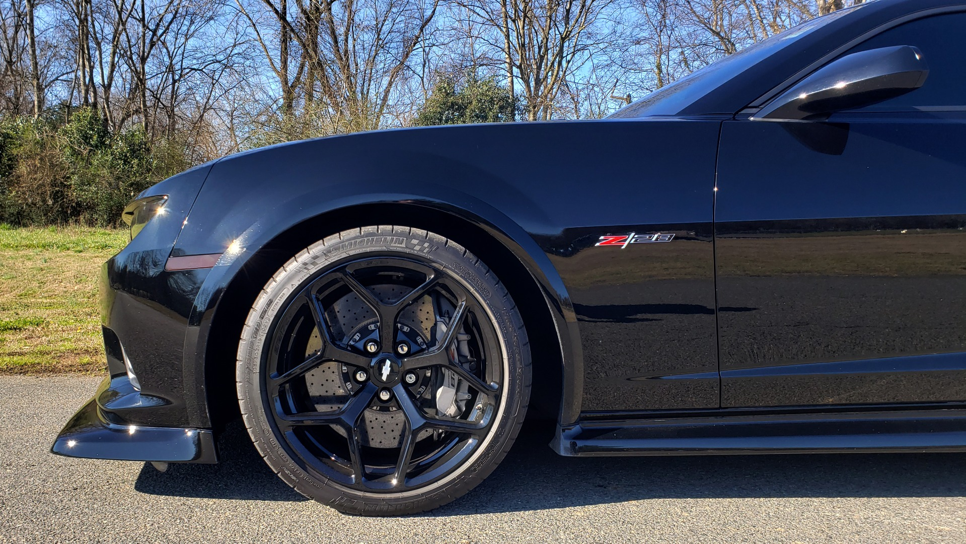 Used 2014 Chevrolet CAMARO Z/28 / 427 7.0L V8 505HP / RADIO / AIR CONDITIONING for sale Sold at Formula Imports in Charlotte NC 28227 22