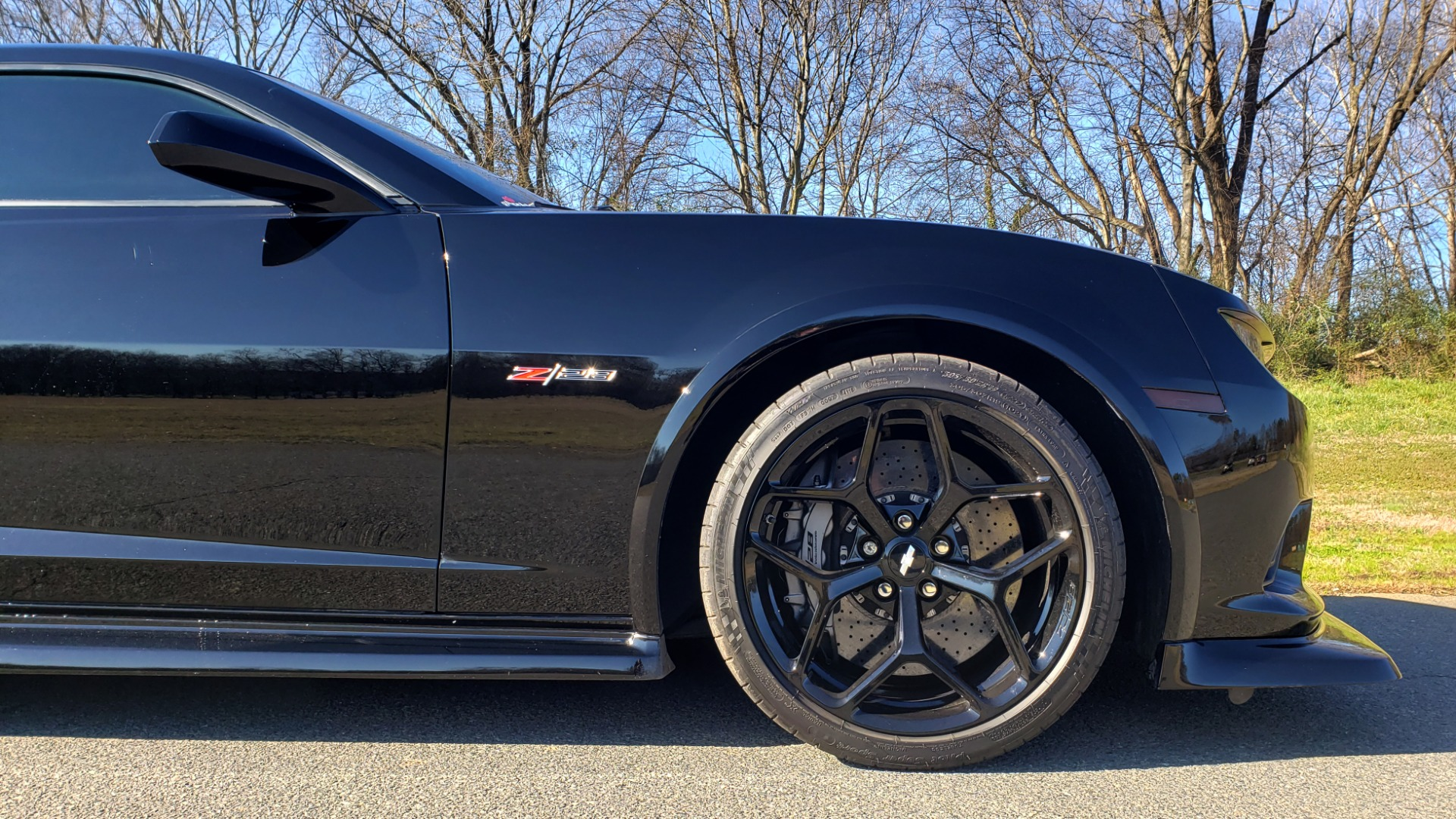 Used 2014 Chevrolet CAMARO Z/28 / 427 7.0L V8 505HP / RADIO / AIR CONDITIONING for sale Sold at Formula Imports in Charlotte NC 28227 34