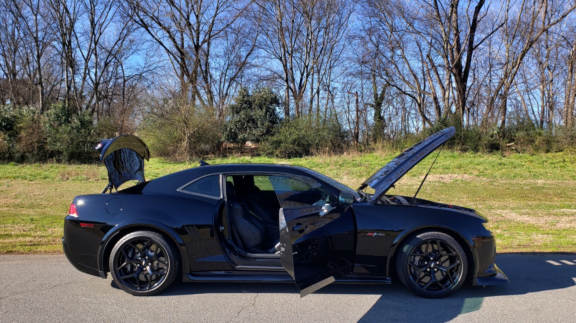 Used 2014 Chevrolet CAMARO Z/28 / 427 7.0L V8 505HP / RADIO / AIR CONDITIONING for sale Sold at Formula Imports in Charlotte NC 28227 36