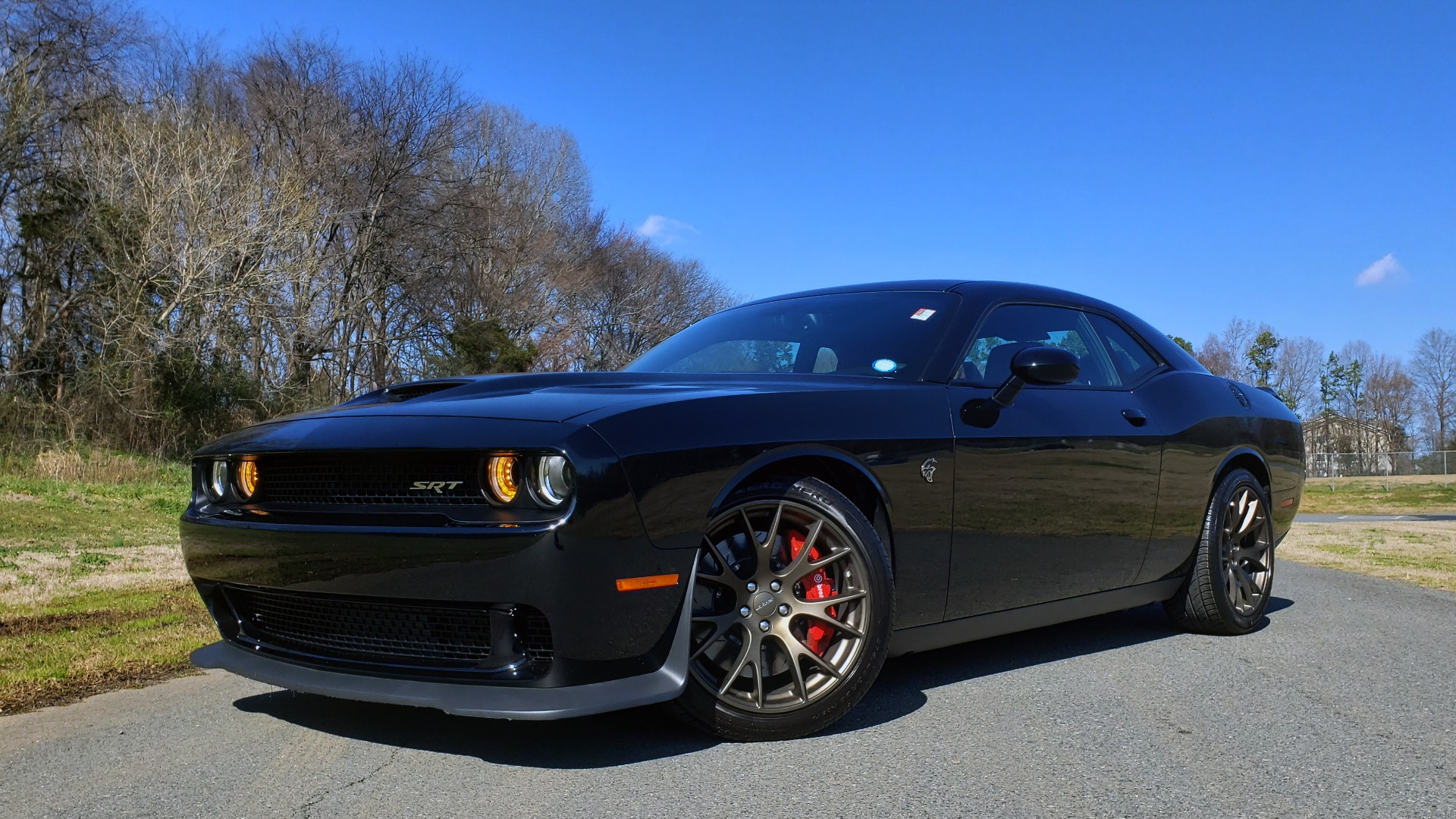 Used 2016 Dodge CHALLENGER SRT HELLCAT / NAV / SUNROOF / REARVIEW / BRASS MONKEY for sale Sold at Formula Imports in Charlotte NC 28227 15