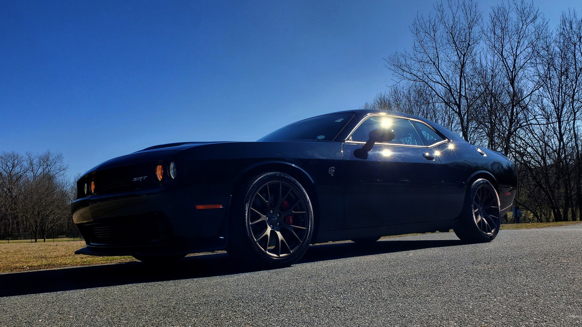 Used 2016 Dodge CHALLENGER SRT HELLCAT / NAV / SUNROOF / REARVIEW / BRASS MONKEY for sale Sold at Formula Imports in Charlotte NC 28227 2