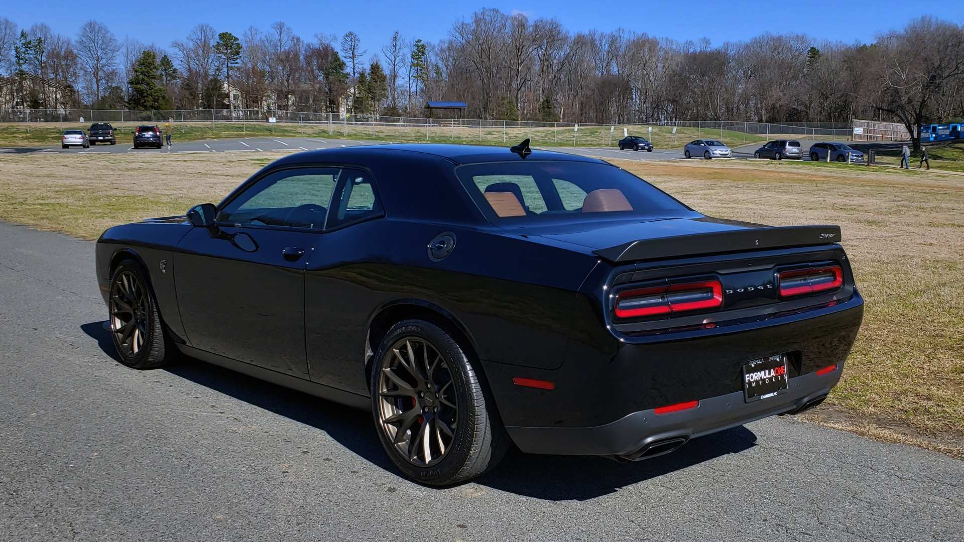 Used 2016 Dodge CHALLENGER SRT HELLCAT / NAV / SUNROOF / REARVIEW / BRASS MONKEY for sale Sold at Formula Imports in Charlotte NC 28227 4
