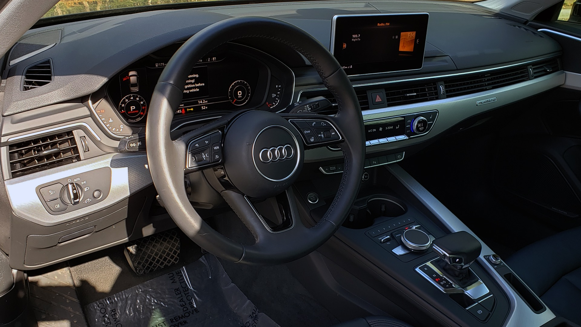 Used 2017 Audi A4 PREMIUM PLUS 2.0T / TECH / NAV / CLD WTHR / SUNROOF / REARVIEW for sale Sold at Formula Imports in Charlotte NC 28227 33