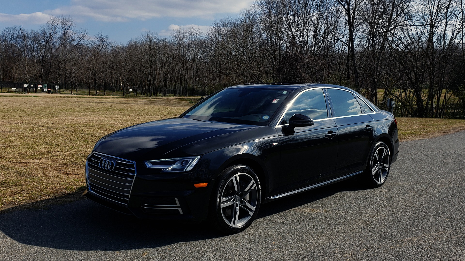 Used 2017 Audi A4 PREMIUM PLUS 2.0T / TECH / NAV / CLD WTHR / SUNROOF / REARVIEW for sale Sold at Formula Imports in Charlotte NC 28227 1