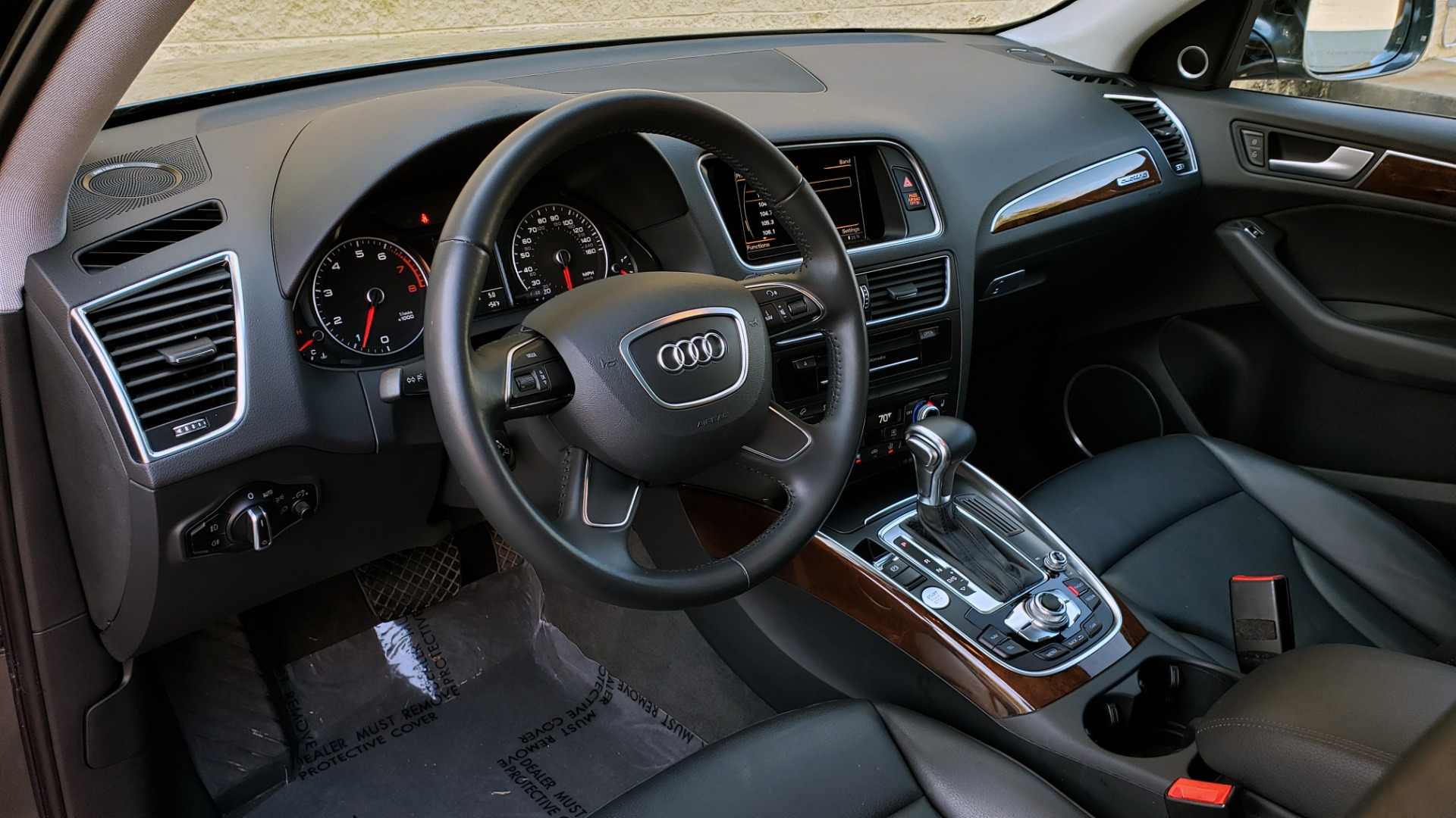 Used 2017 Audi Q5 PREMIUM PLUS / TECH / NAV / PANO / REARVIEW / B&O SND for sale Sold at Formula Imports in Charlotte NC 28227 35
