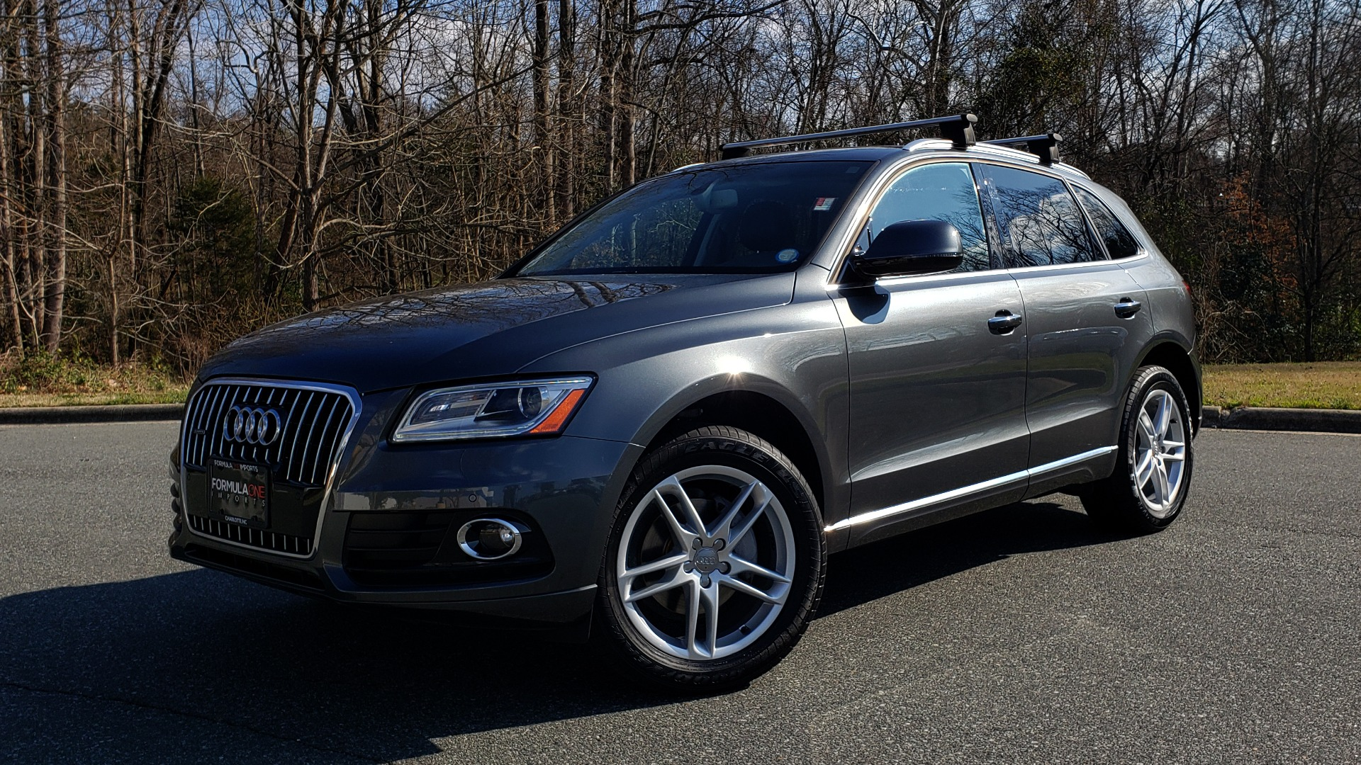 Used 2017 Audi Q5 PREMIUM PLUS / TECH / NAV / PANO / REARVIEW / B&O SND for sale Sold at Formula Imports in Charlotte NC 28227 1