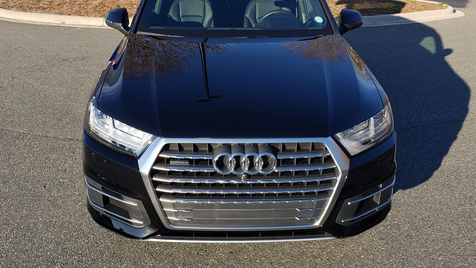 Used 2019 Audi Q7 PREMIUM PLUS / NAV / PANO-ROOF / 3-ROW / REARVIEW for sale Sold at Formula Imports in Charlotte NC 28227 12
