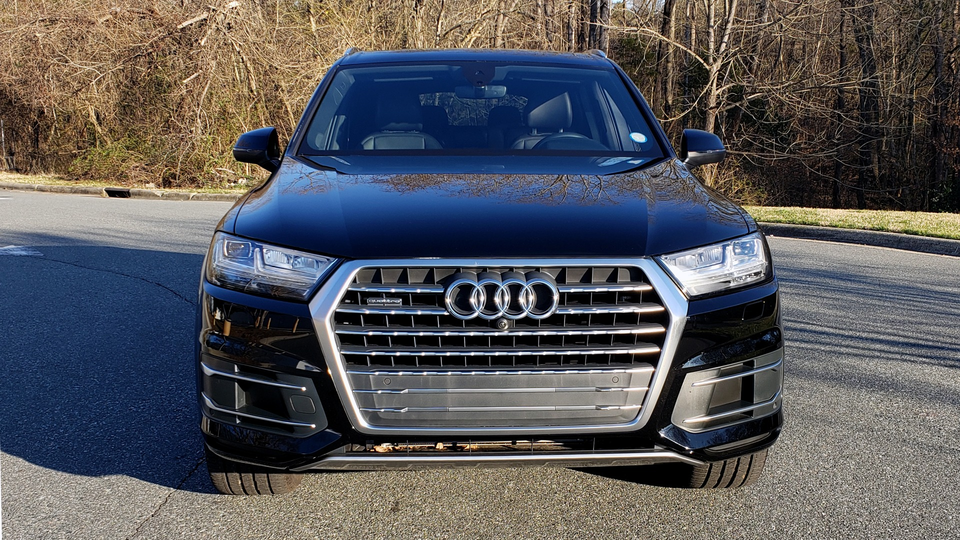 Used 2019 Audi Q7 PREMIUM PLUS / NAV / PANO-ROOF / 3-ROW / REARVIEW for sale Sold at Formula Imports in Charlotte NC 28227 20