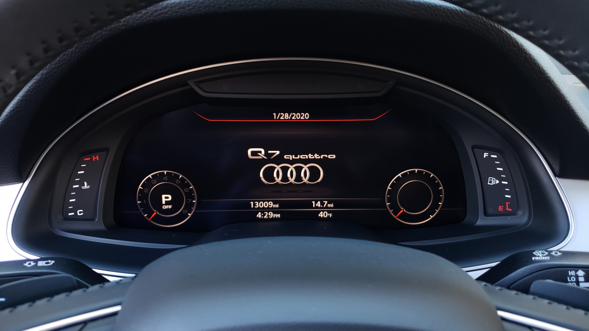 Used 2019 Audi Q7 PREMIUM PLUS / NAV / PANO-ROOF / 3-ROW / REARVIEW for sale Sold at Formula Imports in Charlotte NC 28227 47