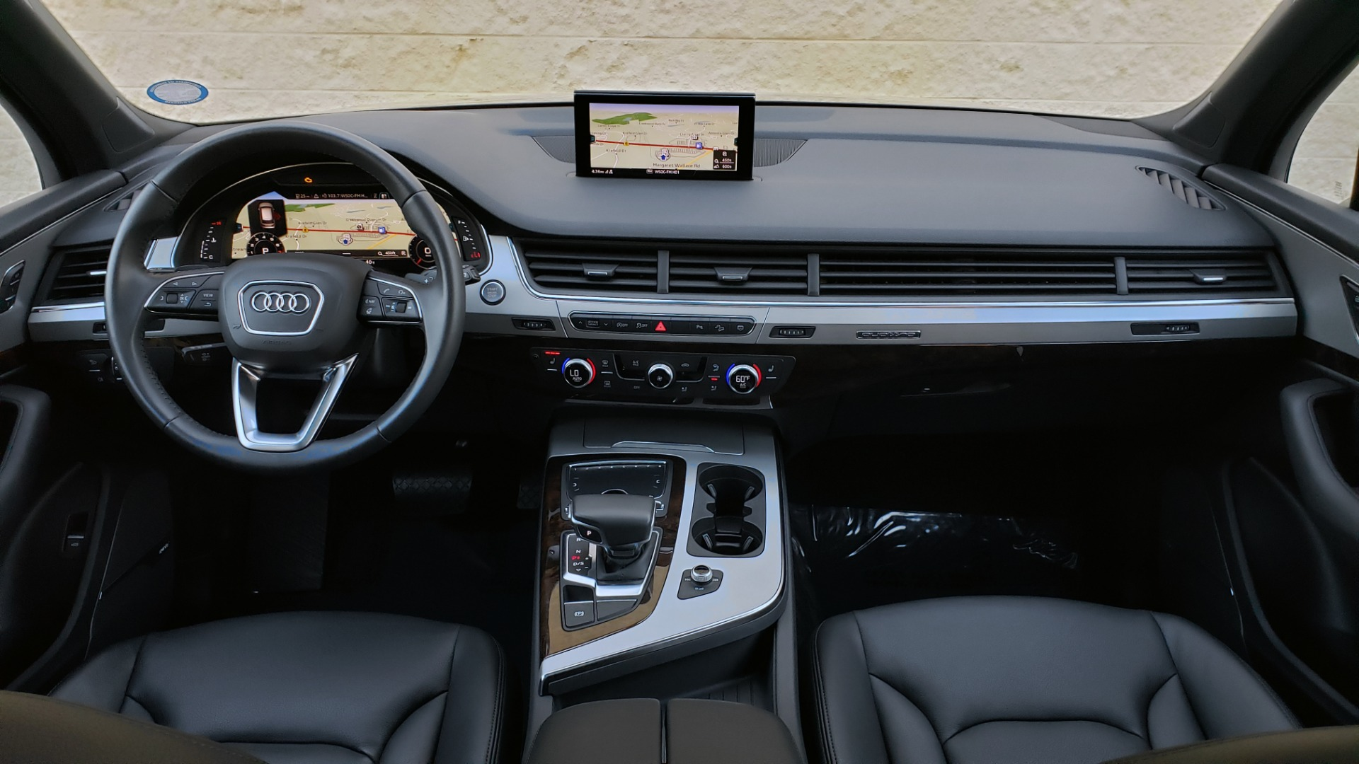 Used 2019 Audi Q7 PREMIUM PLUS / NAV / PANO-ROOF / 3-ROW / REARVIEW for sale Sold at Formula Imports in Charlotte NC 28227 78