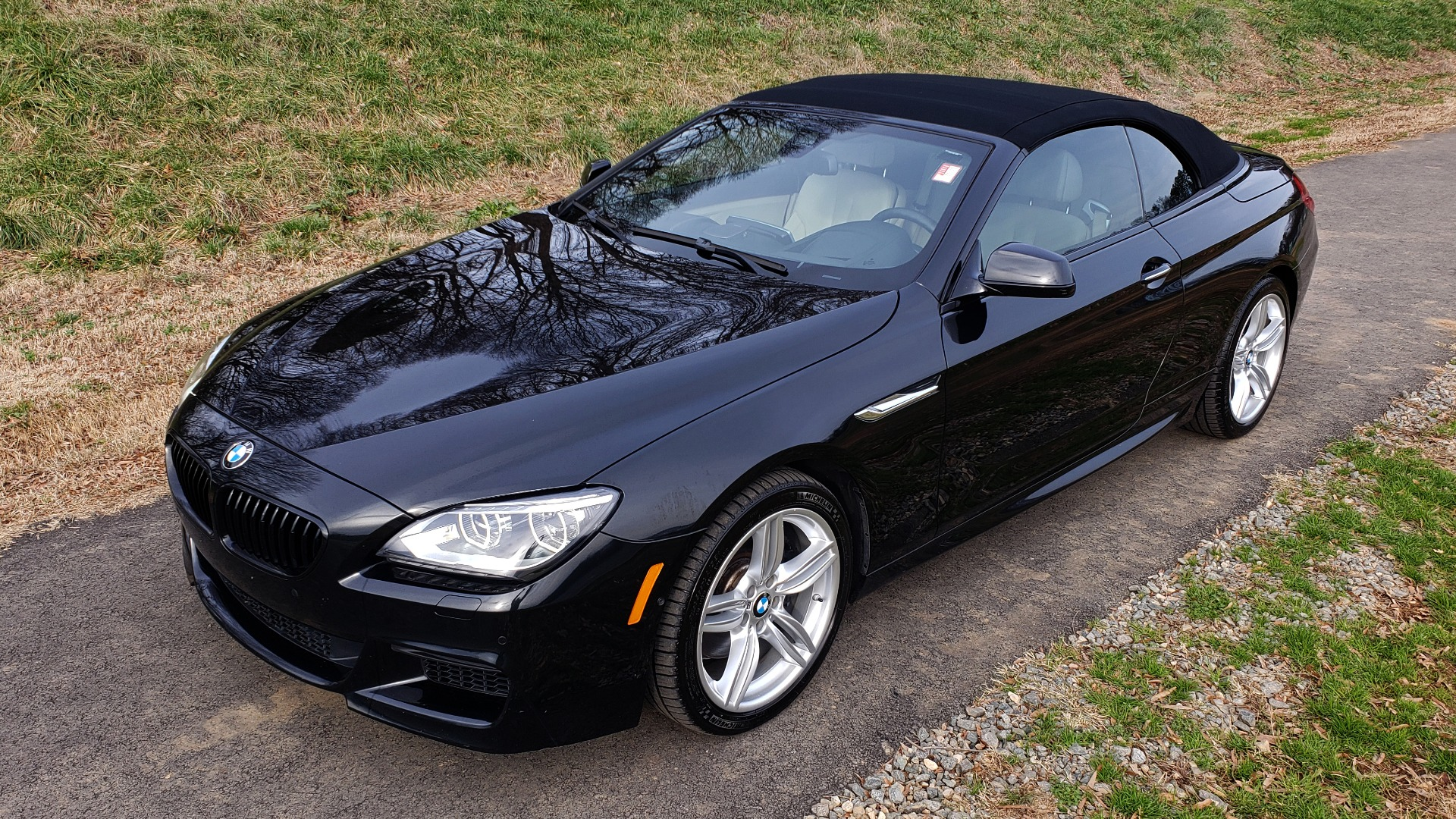 Used 2014 BMW 6 SERIES 650I XDRIVE CONV M-SPORT / NAV / DRVR ASST / CLD WTHR for sale Sold at Formula Imports in Charlotte NC 28227 3