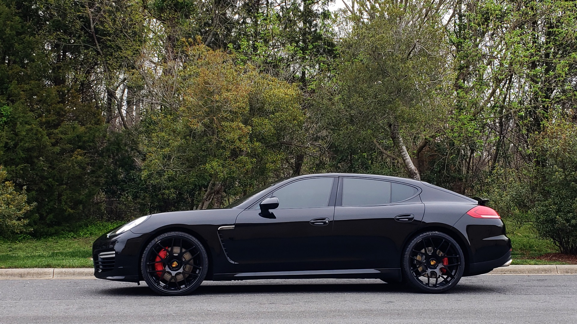 Used 2014 Porsche Panamera Turbo for sale Sold at Formula Imports in Charlotte NC 28227 2
