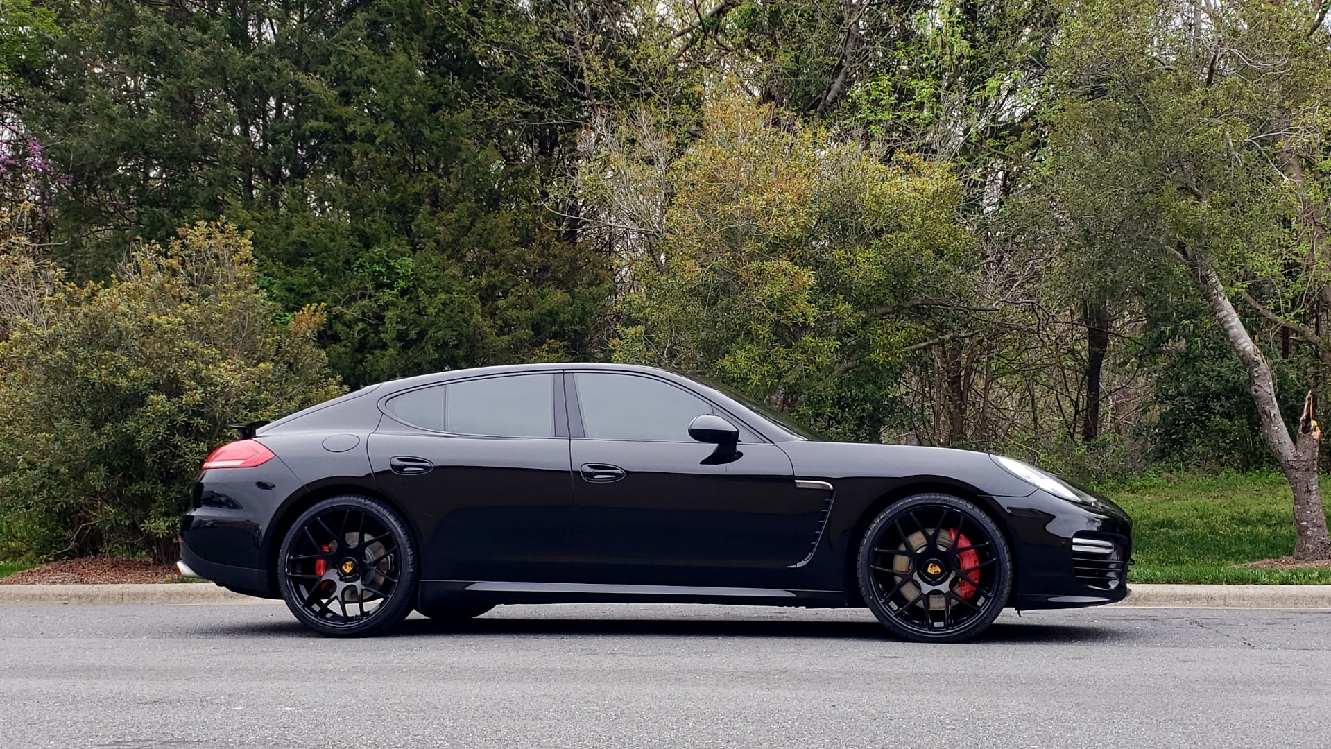 Used 2014 Porsche Panamera Turbo for sale Sold at Formula Imports in Charlotte NC 28227 5