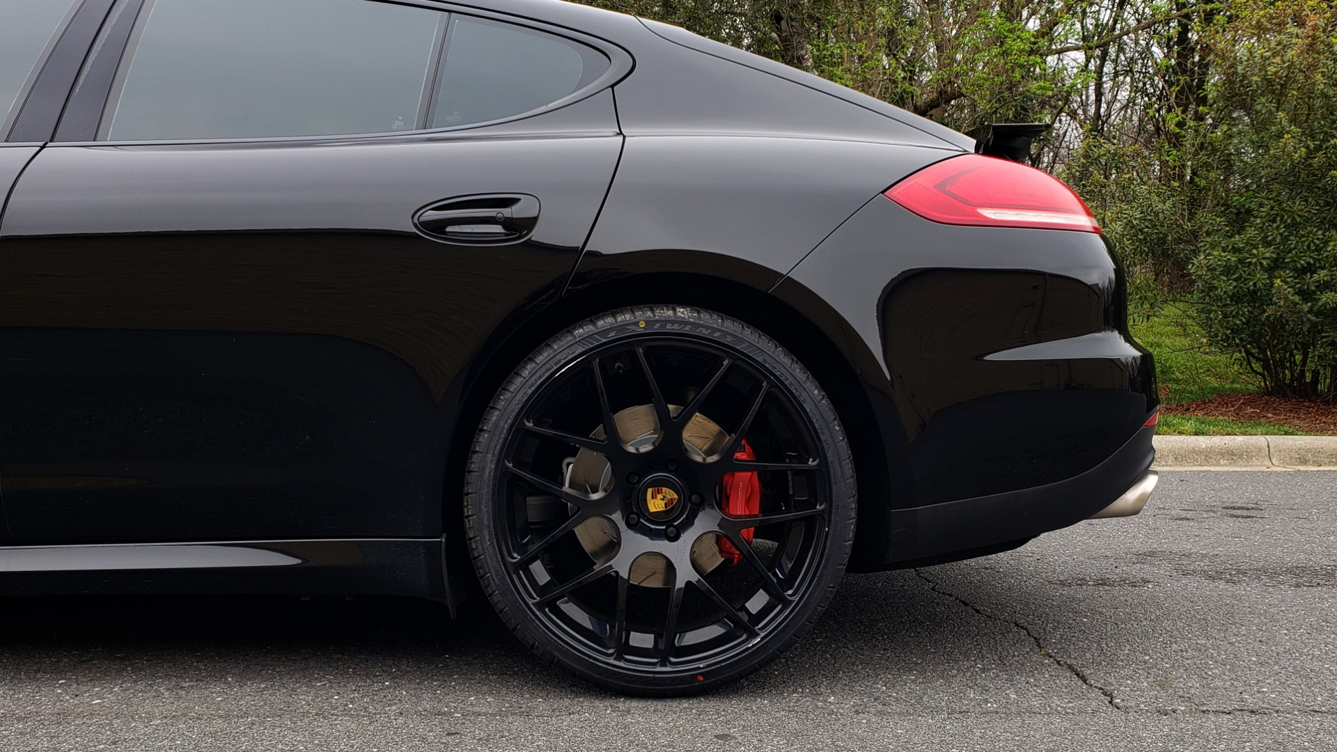 Used 2014 Porsche Panamera Turbo for sale Sold at Formula Imports in Charlotte NC 28227 85