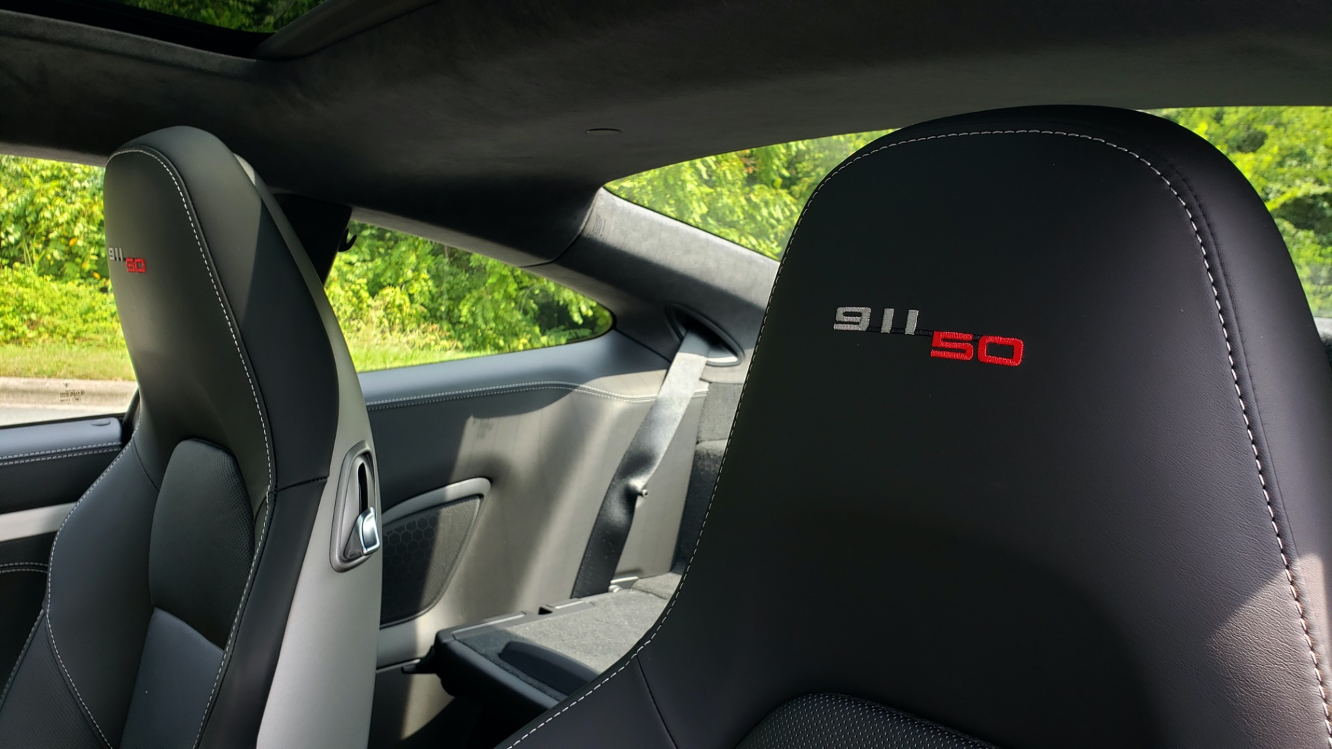 Used 2014 Porsche 911 50TH ANNIVERSARY EDITION NO. 0423 / 7-SPD MAN / NAV / BOSE for sale $118,999 at Formula One Imports in Charlotte NC 28227 12