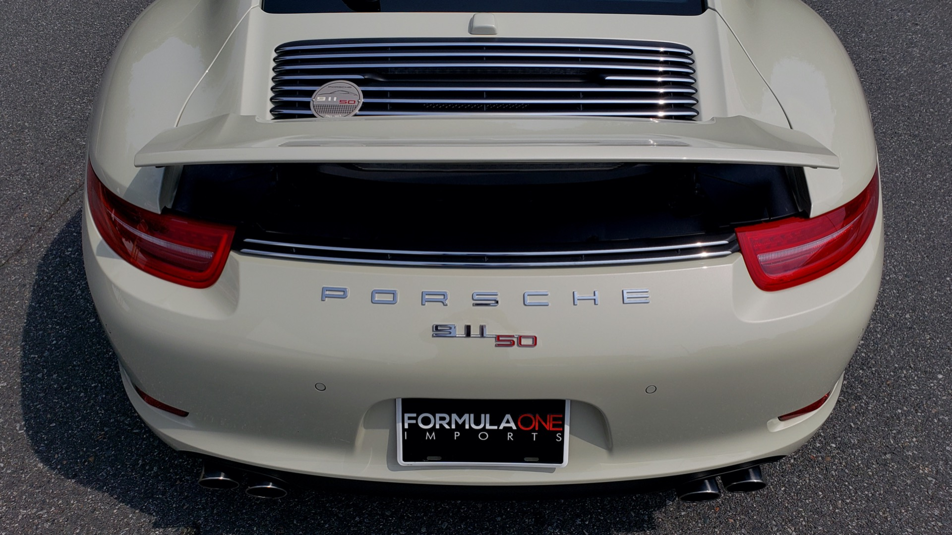 Used 2014 Porsche 911 50TH ANNIVERSARY EDITION NO. 0423 / 7-SPD MAN / NAV / BOSE for sale $117,999 at Formula Imports in Charlotte NC 28227 25