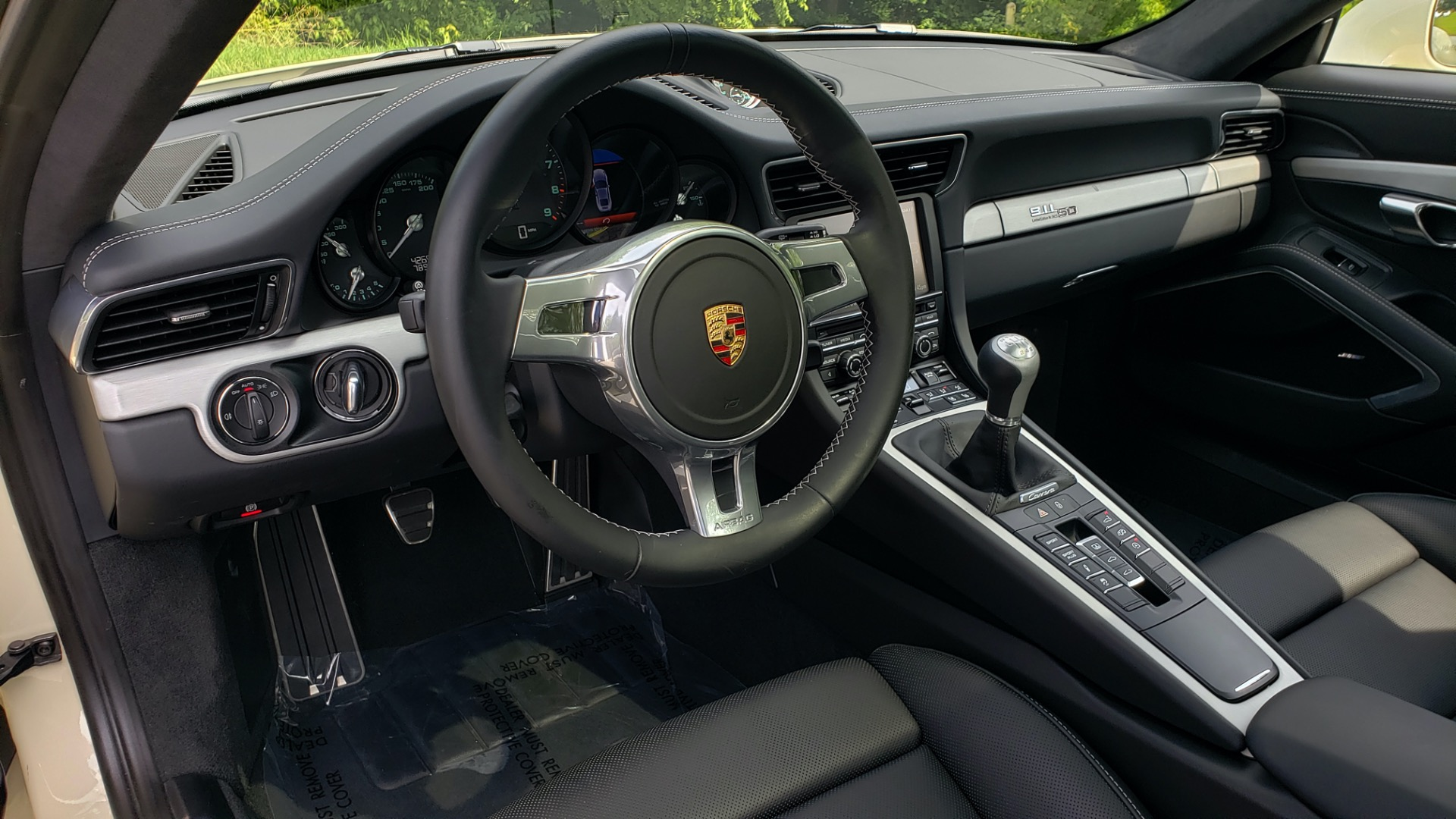 Used 2014 Porsche 911 50TH ANNIVERSARY EDITION NO. 0423 / 7-SPD MAN / NAV / BOSE for sale $118,999 at Formula One Imports in Charlotte NC 28227 48